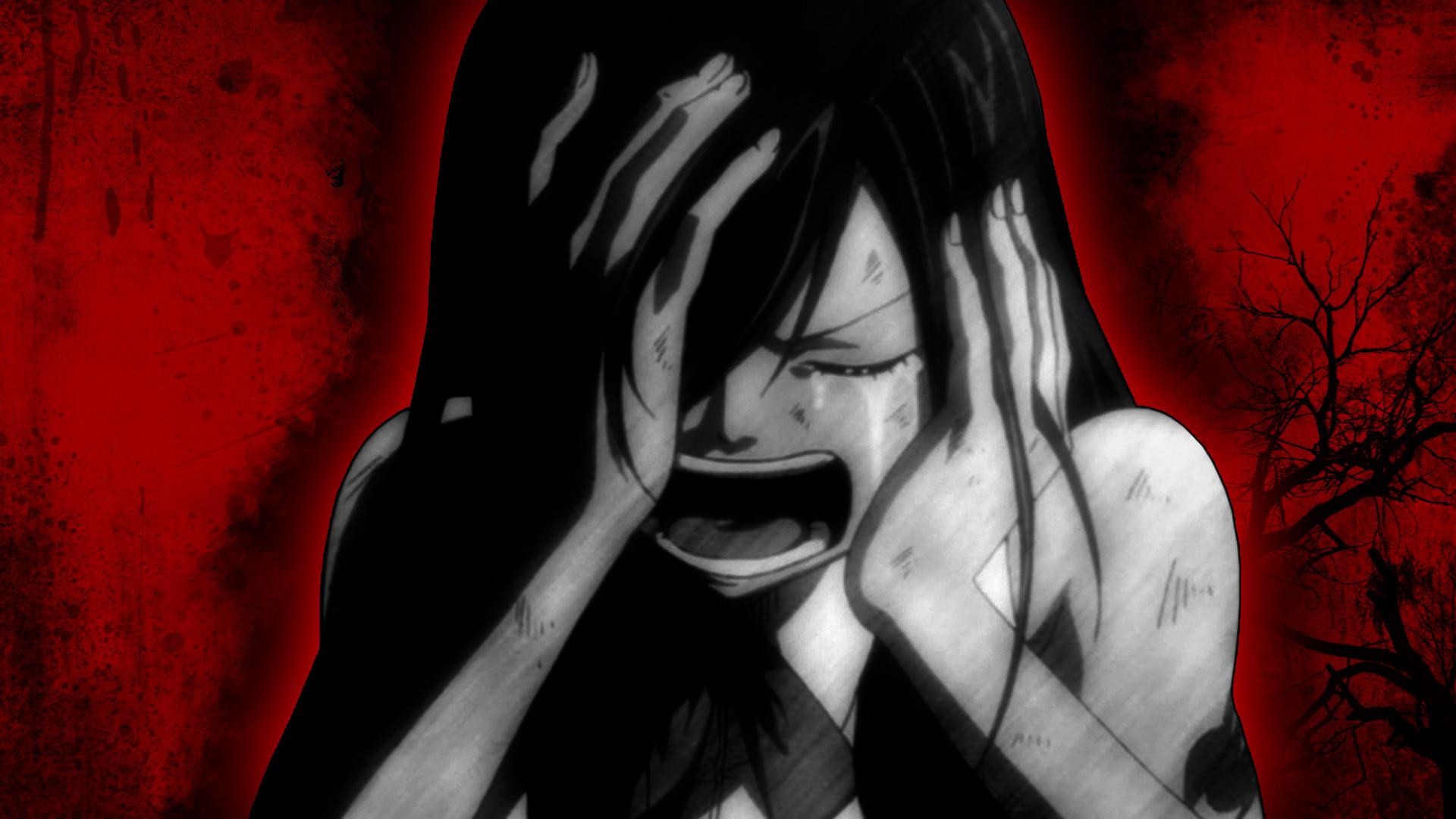 Anime – Fairy Tail Erza Scarlet Blood Sad Far Cry Wallpaper