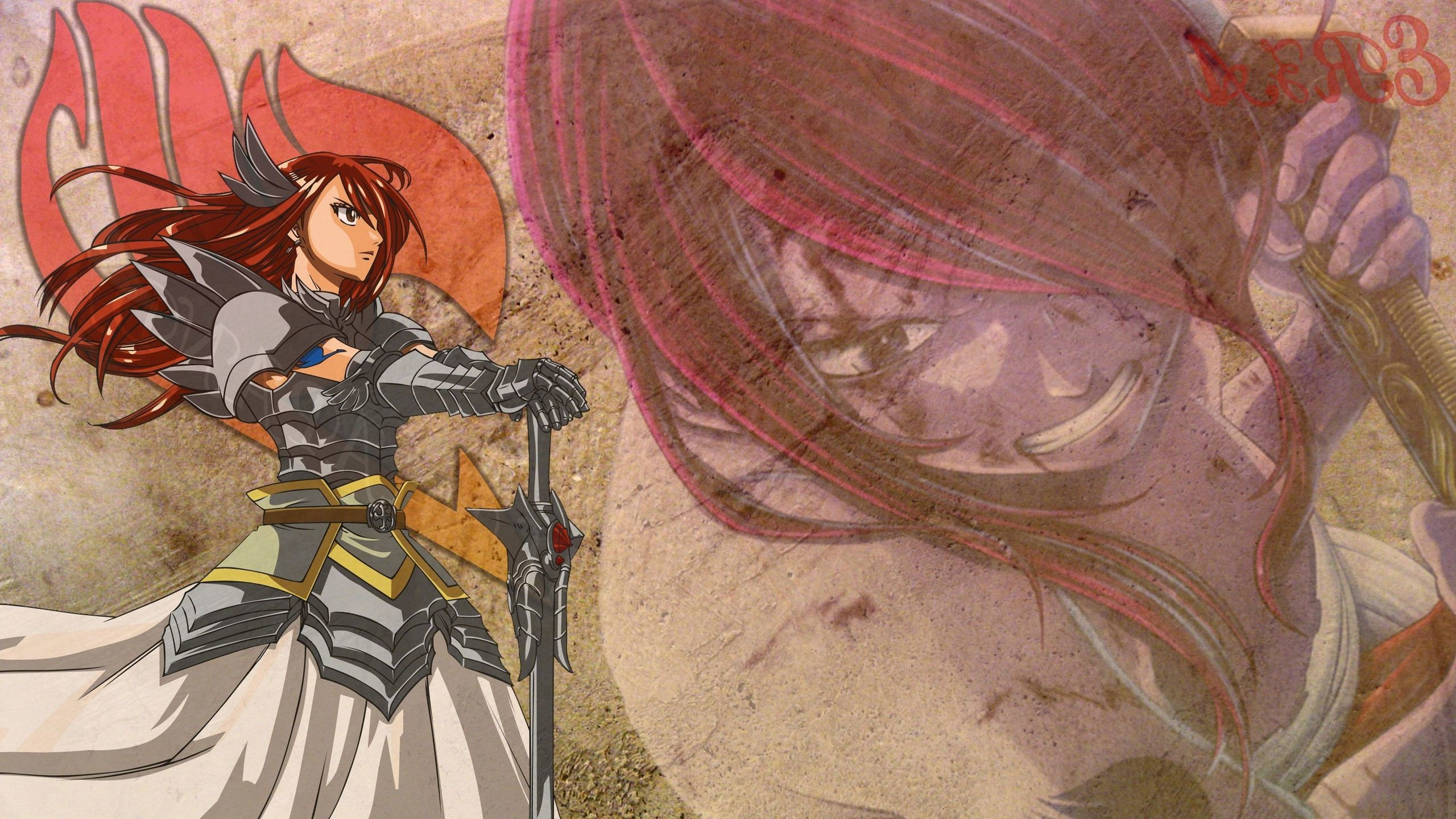 Erza Scarlet – Fairy Tail Wallpaper #26210