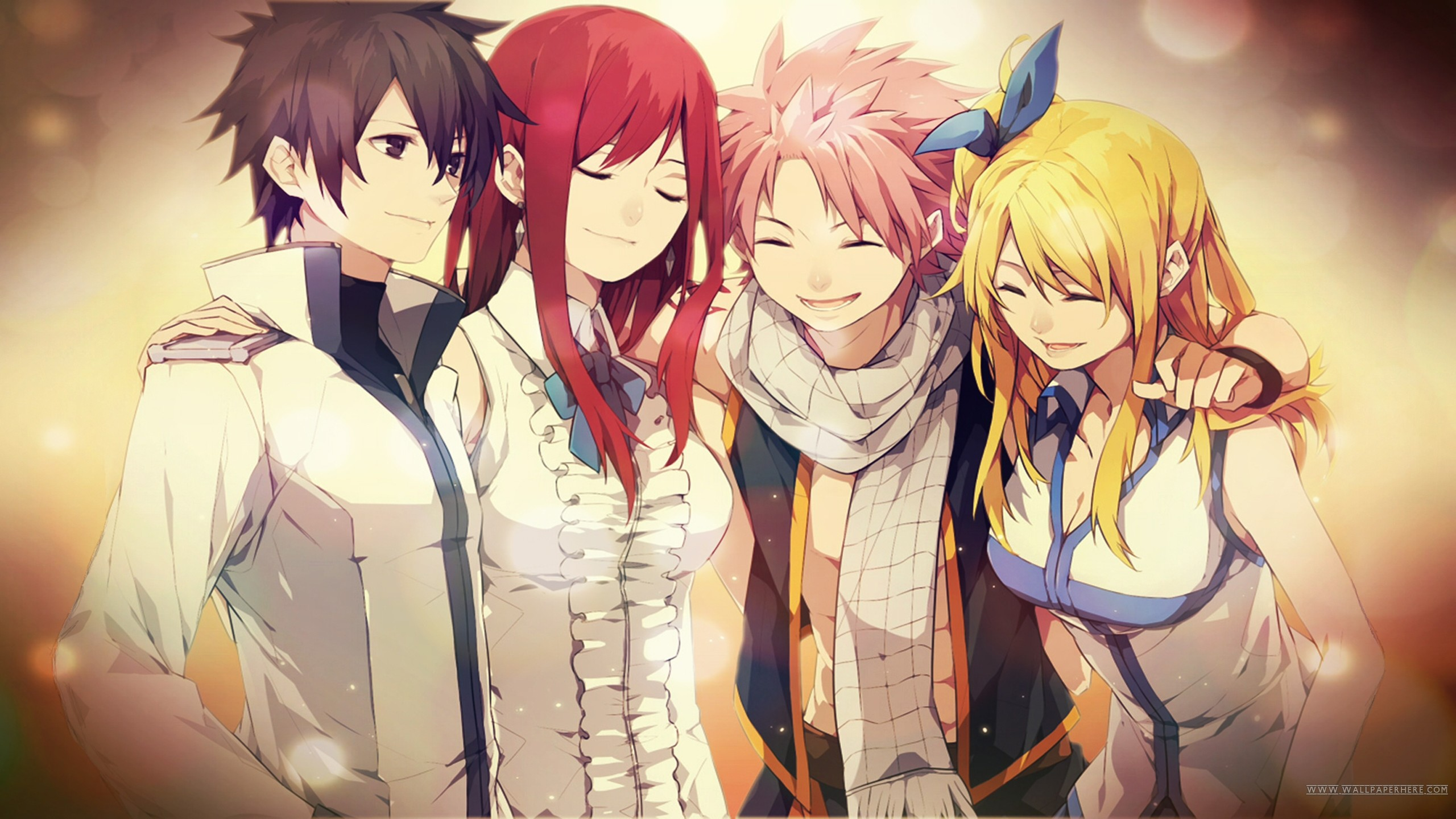 Fairy Tail's Strongest Team ~ Natsu Dragneel, Gray Fullbuster, Erza Scarlet  and Lucy Heatfillia