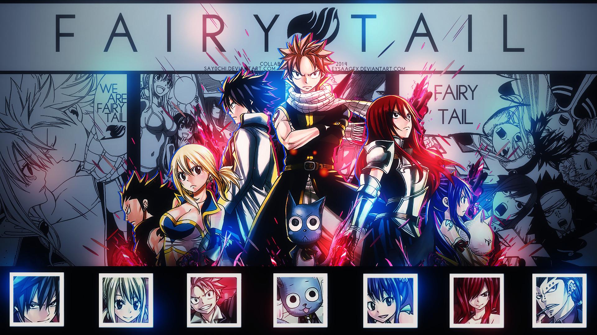 Wallpaper Fairy Tail