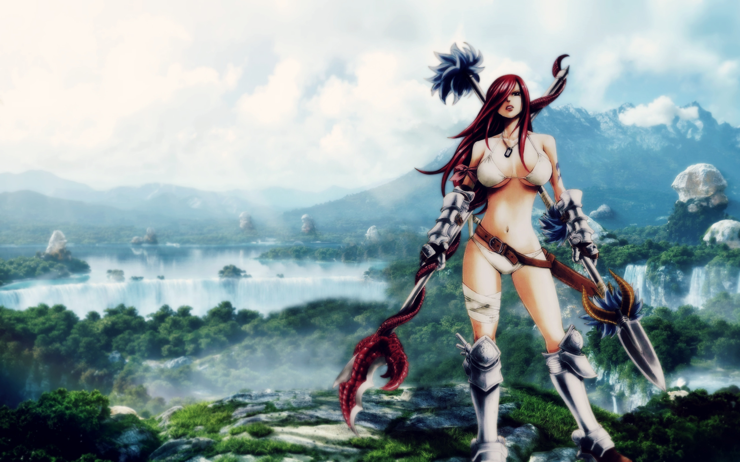 … Erza Scarlet – In the valley by Altair-Ezio