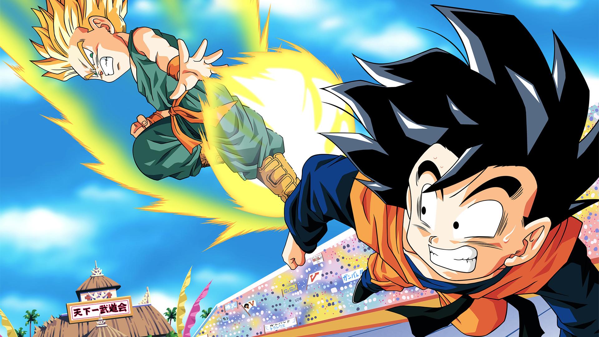 Dragon Ball Z Gogeta Gohan Goku Majin Buu Trunks Vegeta Videl · Fond  d'écran HD   Arrière-plan ID:681068