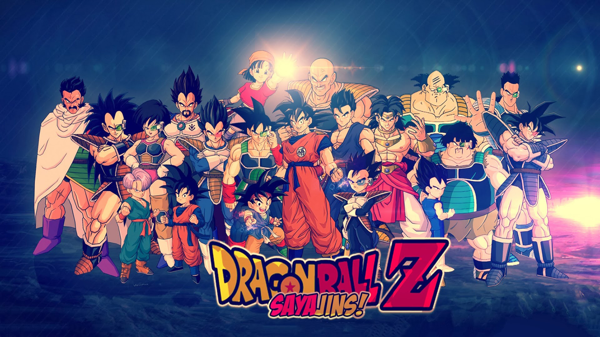 Dragon Ball Z All Characters wallpaper mobile