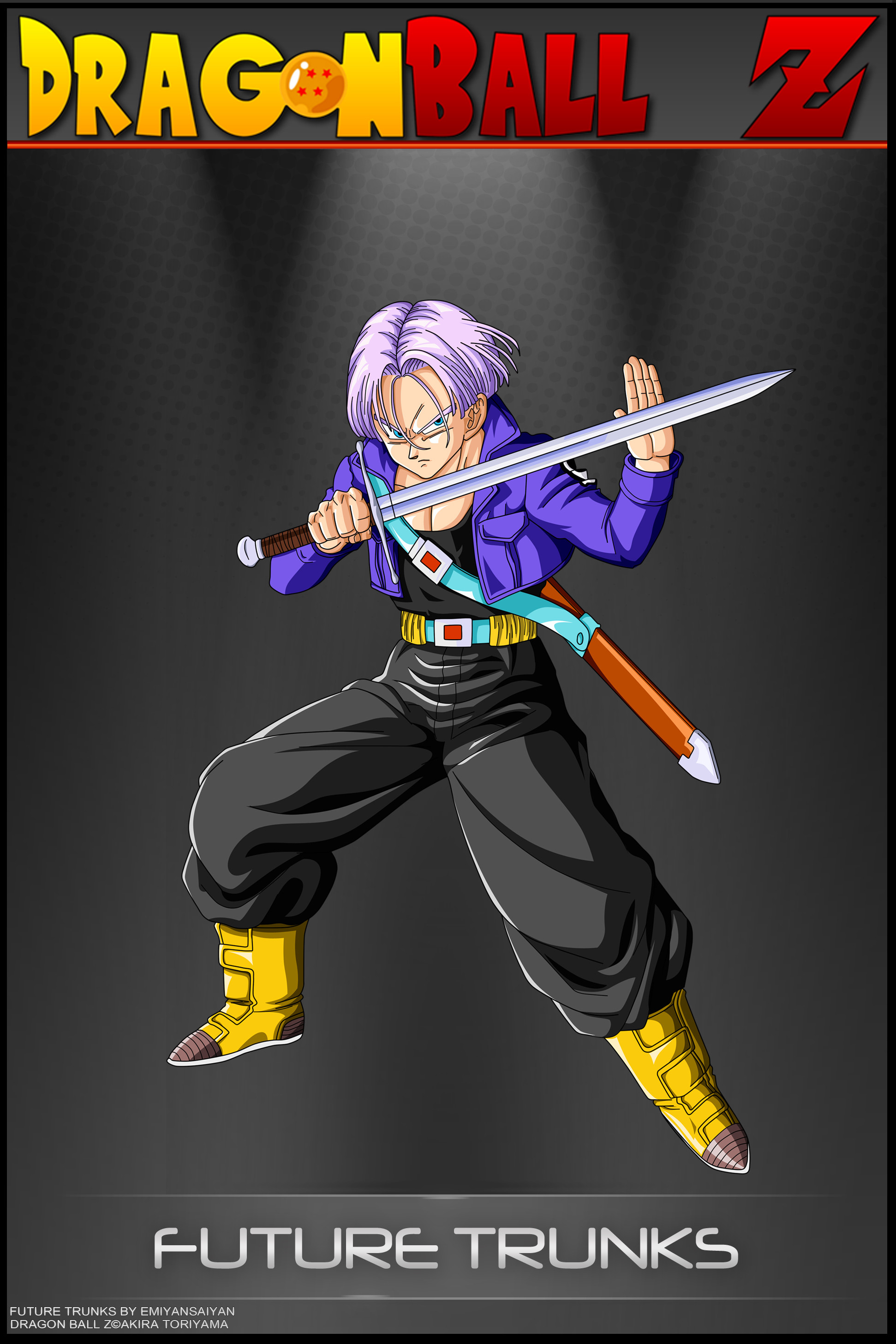 Dragon Ball Z – Future Trunks by DBCProject
