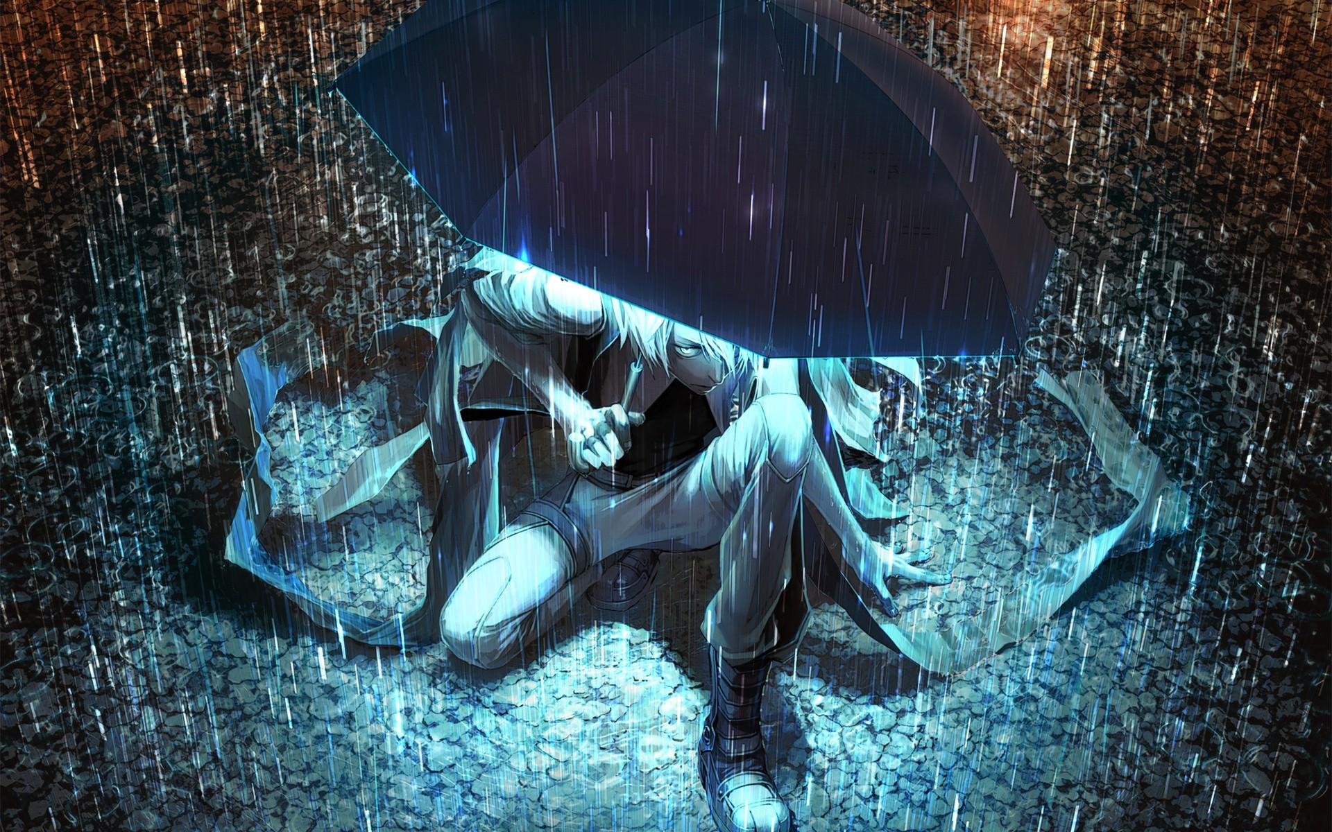 Lonely Sad Anime Girls And Boys Wallpapers | HD Wallpapers | Pictures .