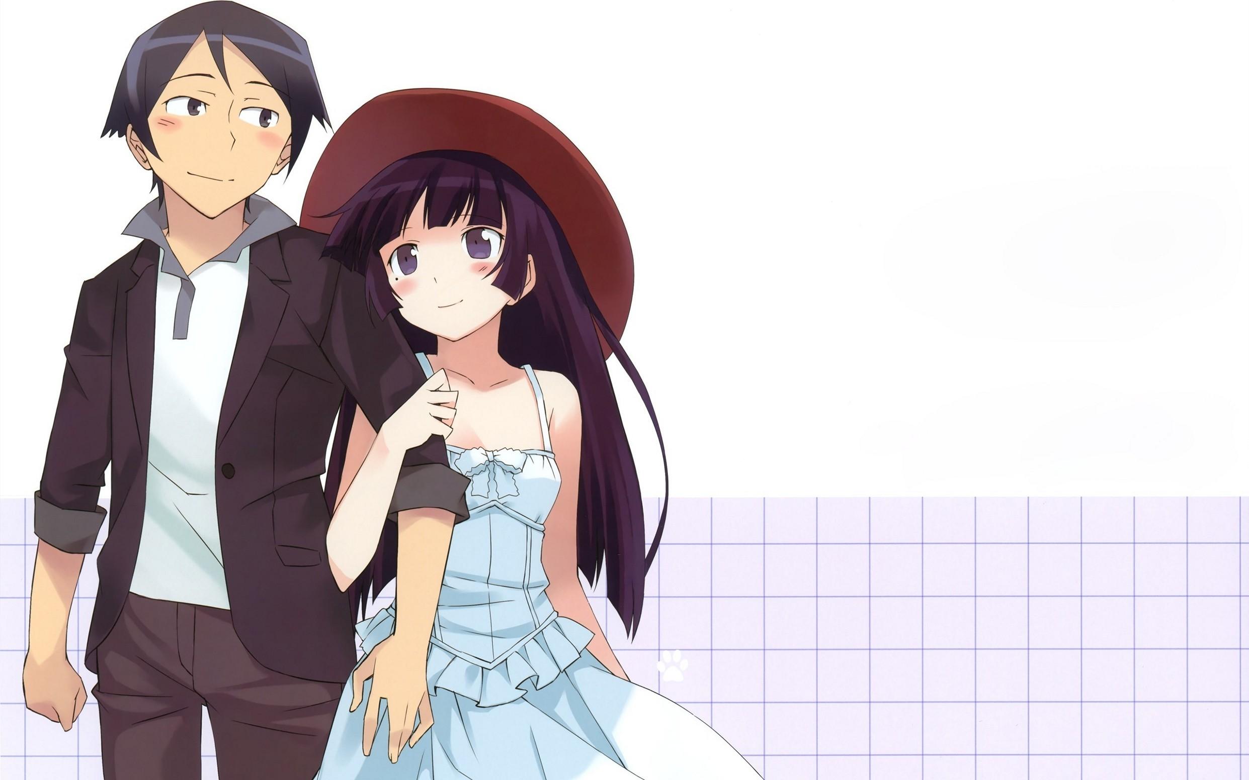 Boy Girl Costume Hat Tenderness Popular Sad Anime Wallpaper