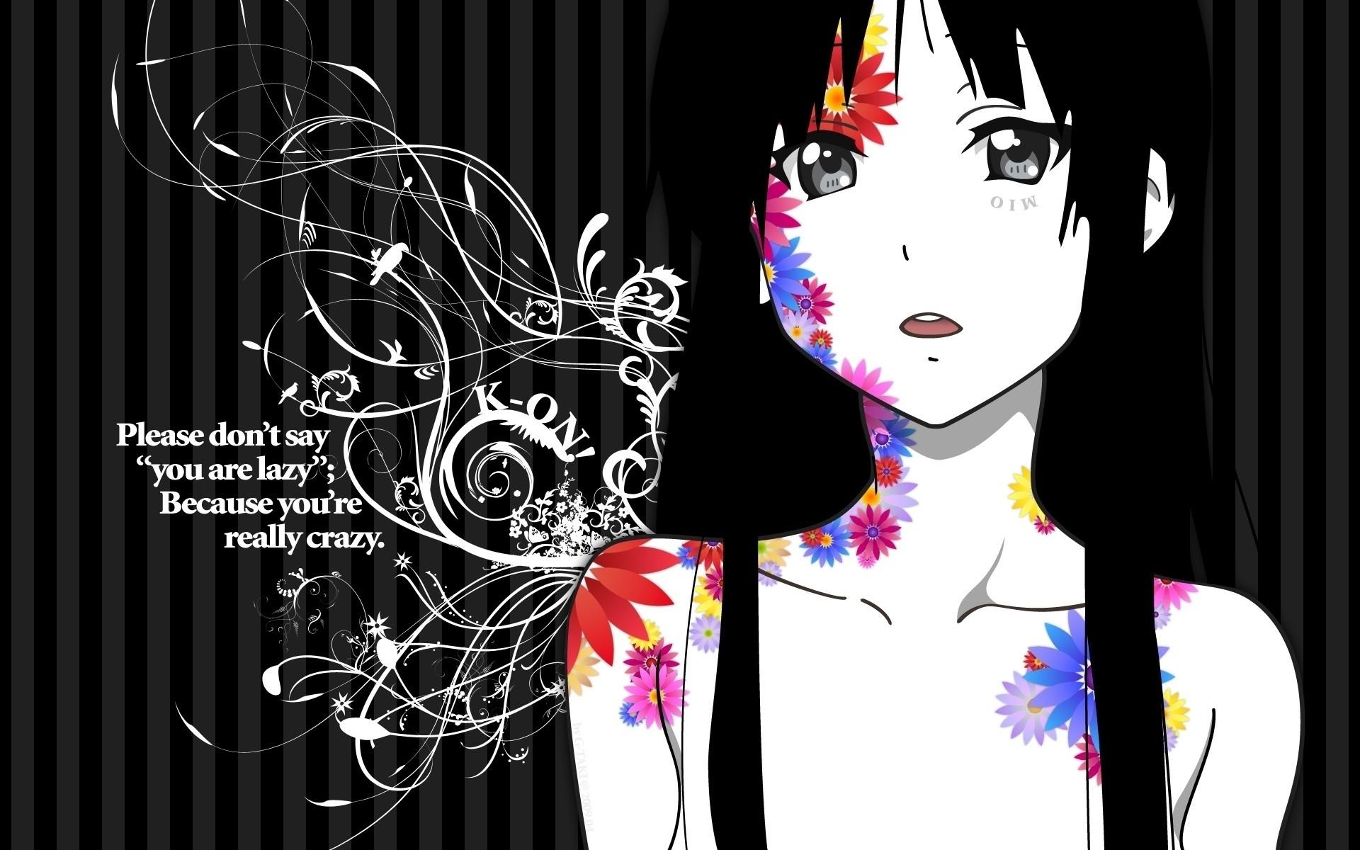 Mio Akiyama – K-ON Anime Wallpaper