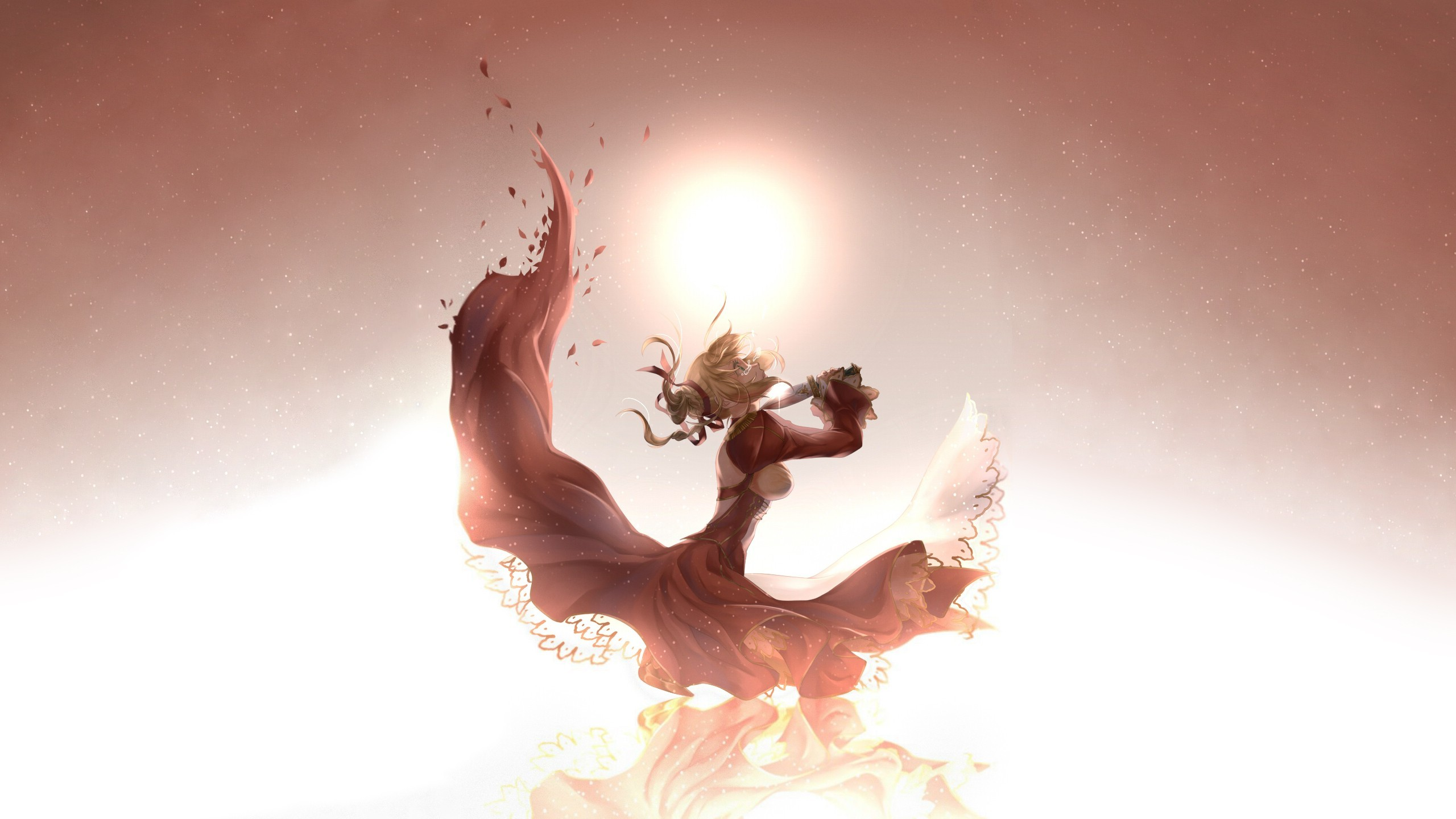 Anime Knife Cry Sad Dress Sunlight mood dark wallpaper | | 91286  | WallpaperUP