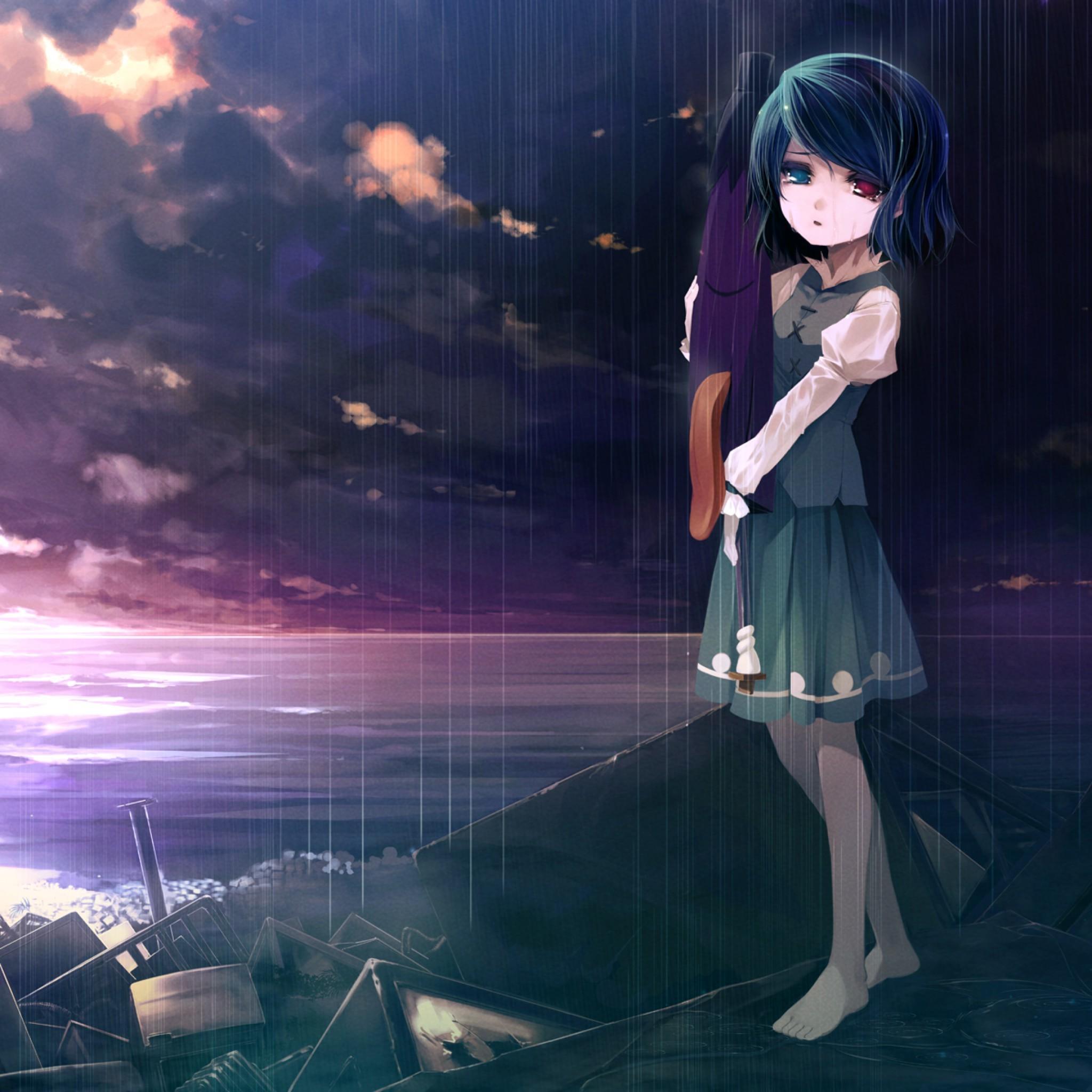 Pictures Sad Anime Girl Wallpapers 1920X1200 1207307 Tears Of Sadness …