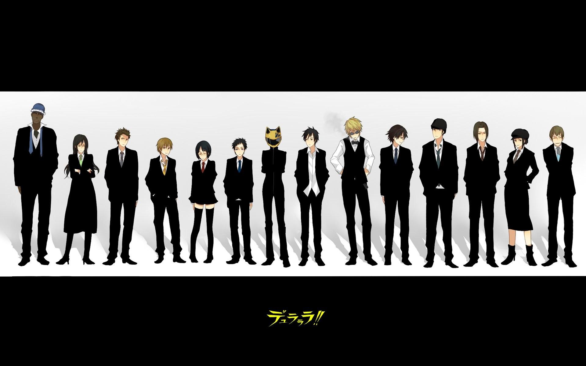Anime girl Gangsta anime series group character guy wallpaper | |  848576 | WallpaperUP