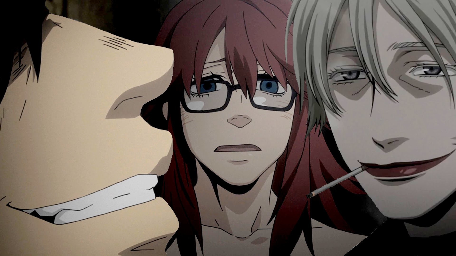 Gangsta. Episode 5 ギャングスタ Anime Review – Twilight Guild & Three Laws –  YouTube
