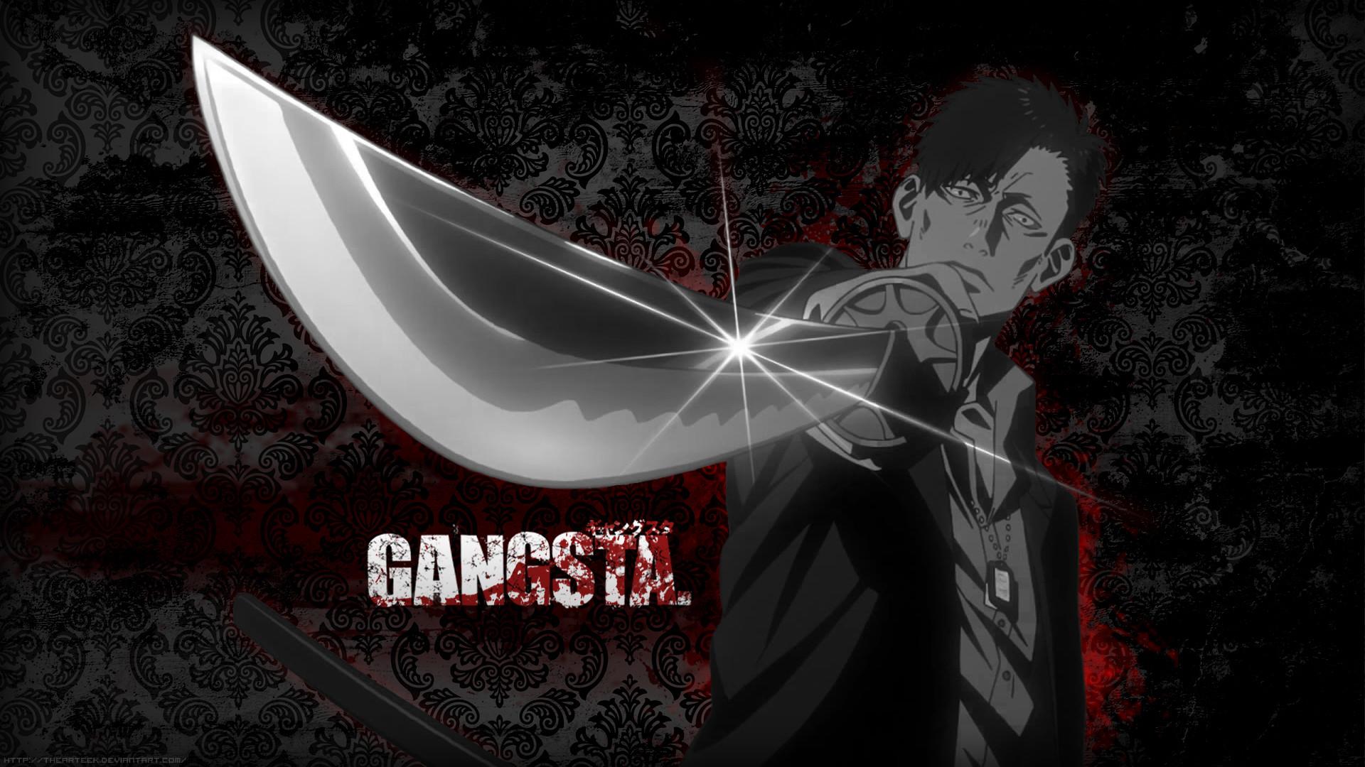 … AnimePaper #7 | Nicolas Brown – Gangsta. by TheArteek