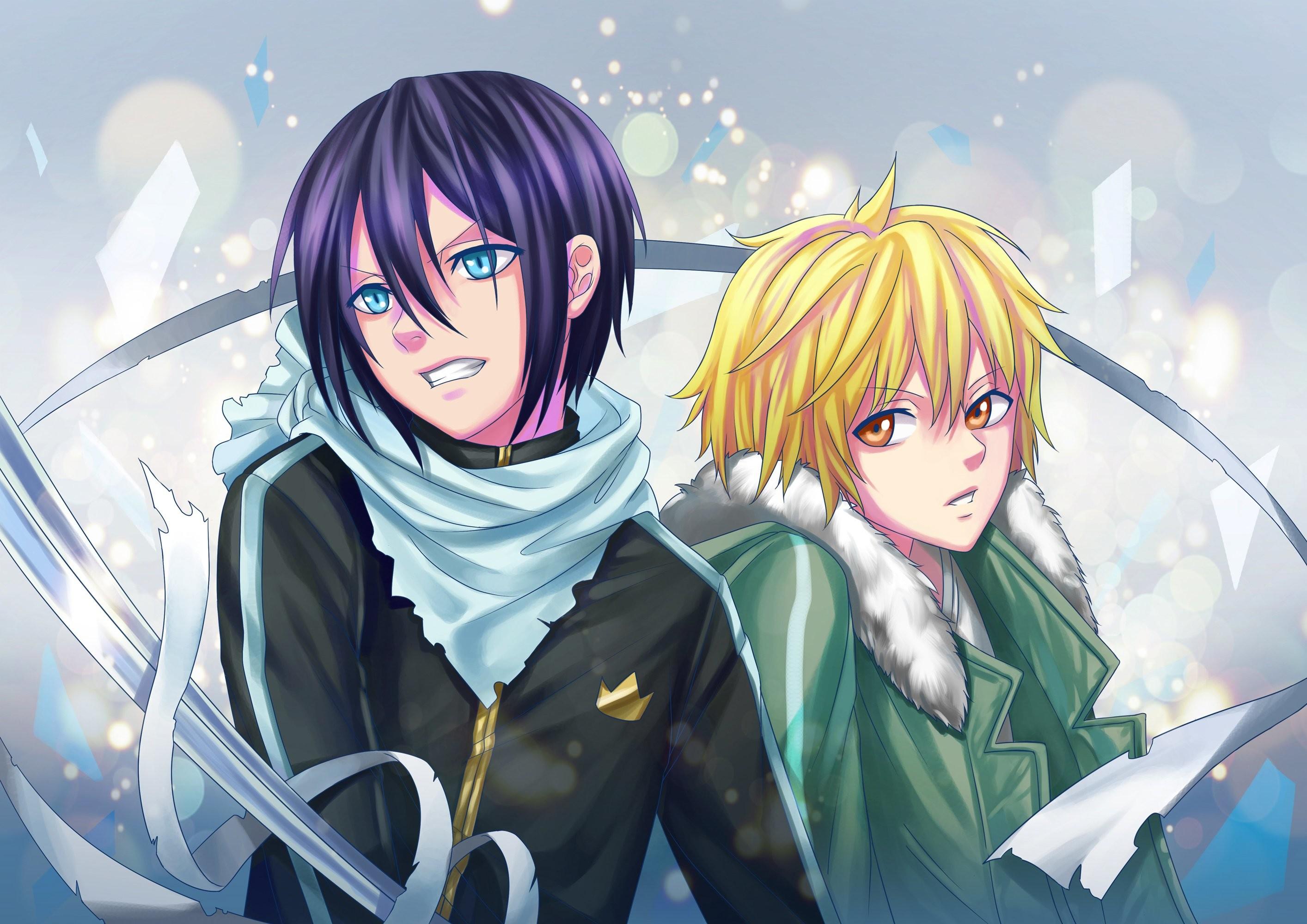 2560×1440 Anime Noragami Noragami wallpaper entitled Yato and Yukine Hiyori  …