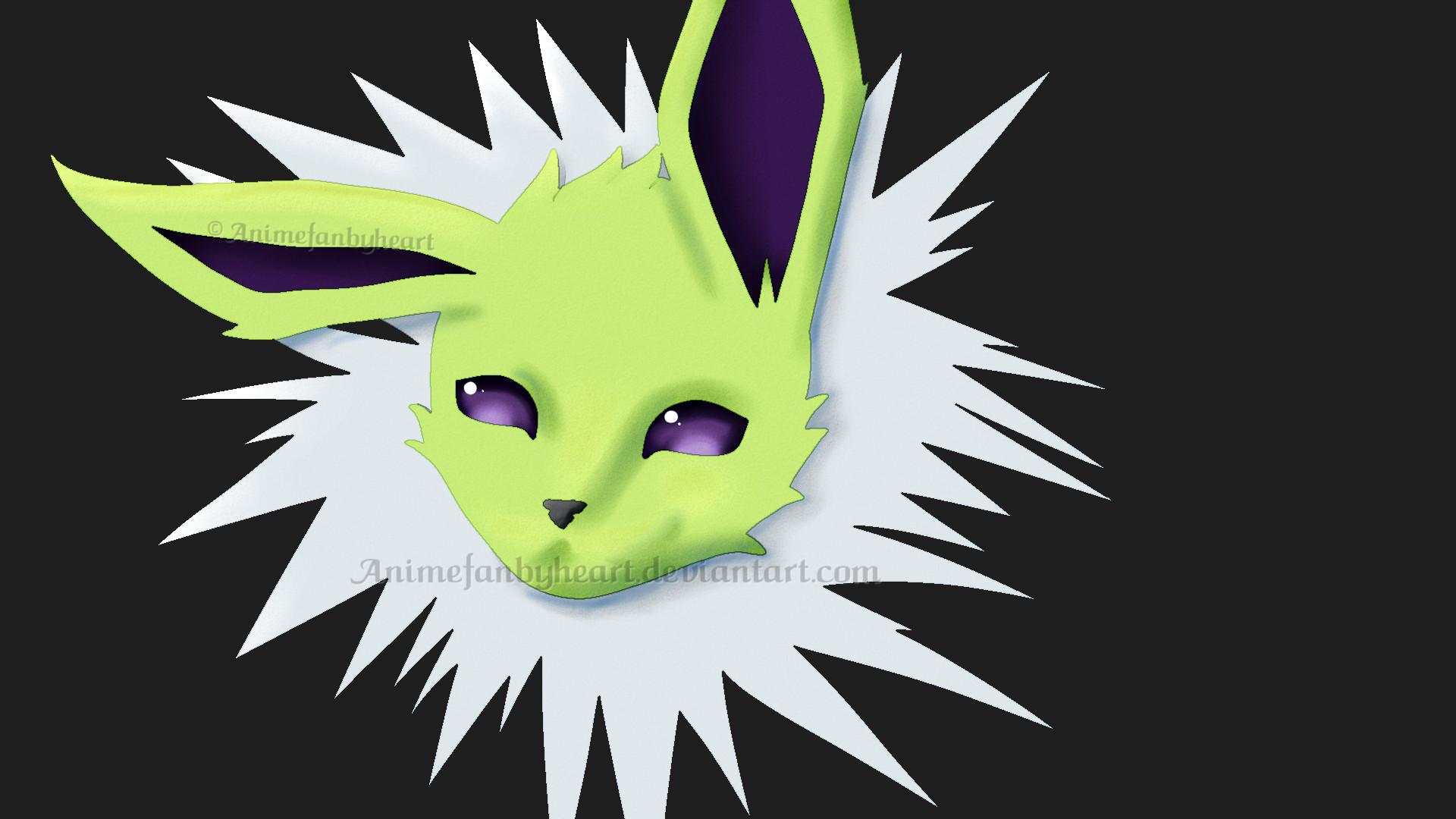 Shiny Jolteon:. by Animefanbyheart