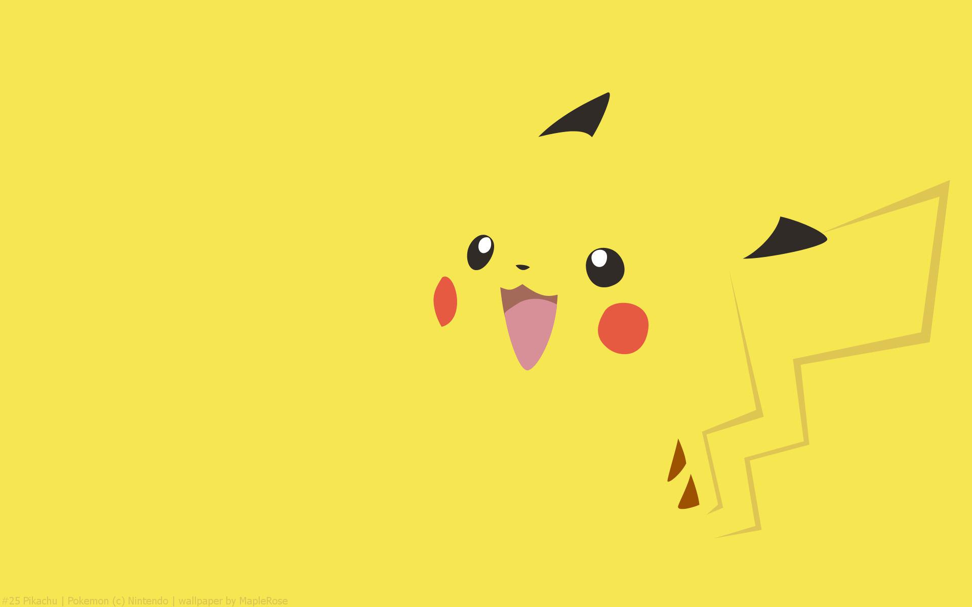 Pikachu Pokemon HD Wallpaper