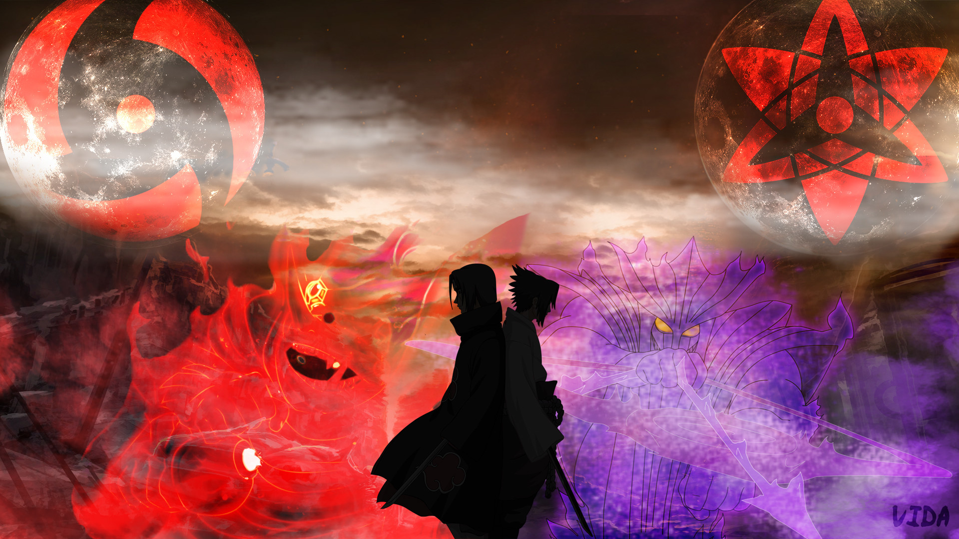 Sasuke Itachi Wallpaper Full HD by Vida996 on DeviantArt