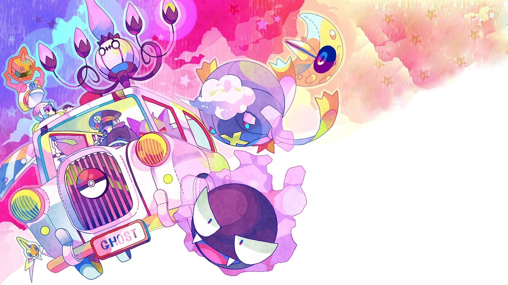 Cool Ghost Pokemon Wallpaper DFILES 1920×1080 Ghost Pokemon Wallpaper (30  Wallpapers) |