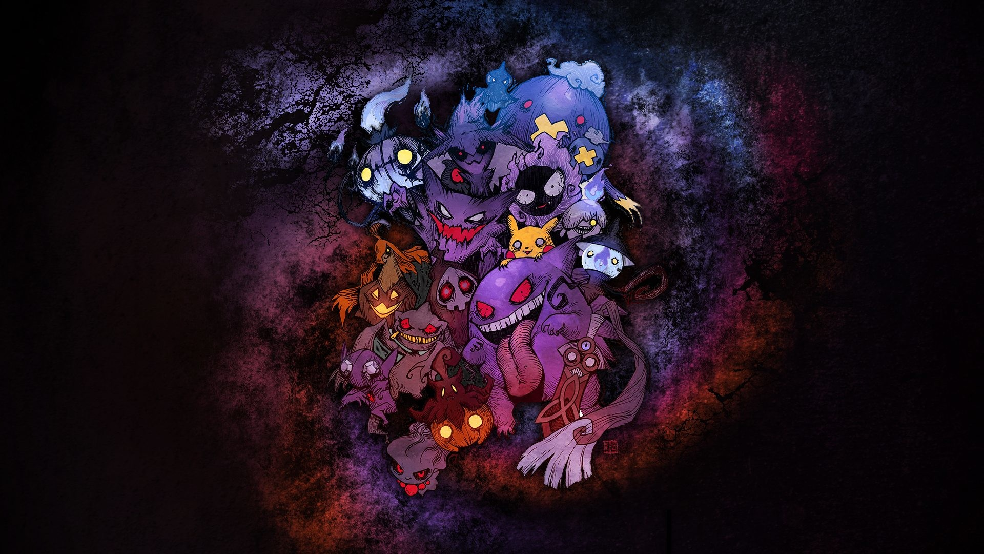 Ghost Pokemon Wallpaper Group | HD Wallpapers | Pinterest | Ghost pokemon,  Pokémon and Wallpaper