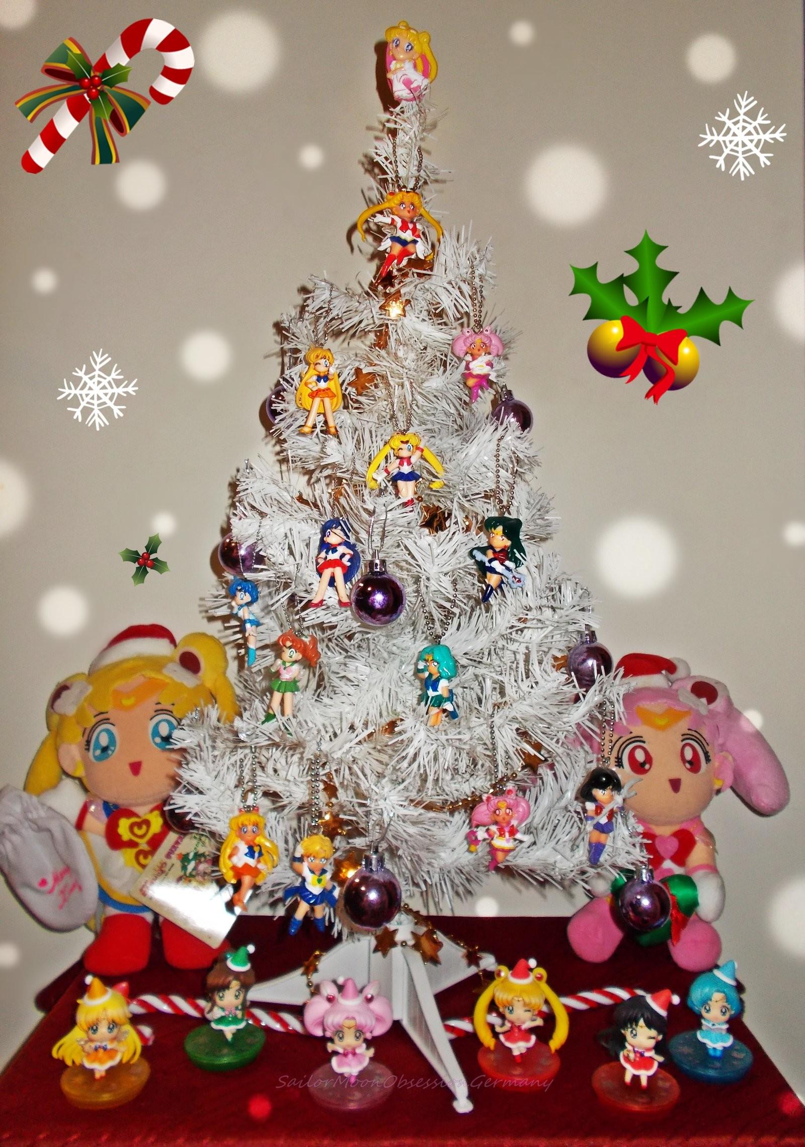 Sailor Moon Christmas Tree by SerenityofAsgard Sailor Moon Christmas Tree  by SerenityofAsgard