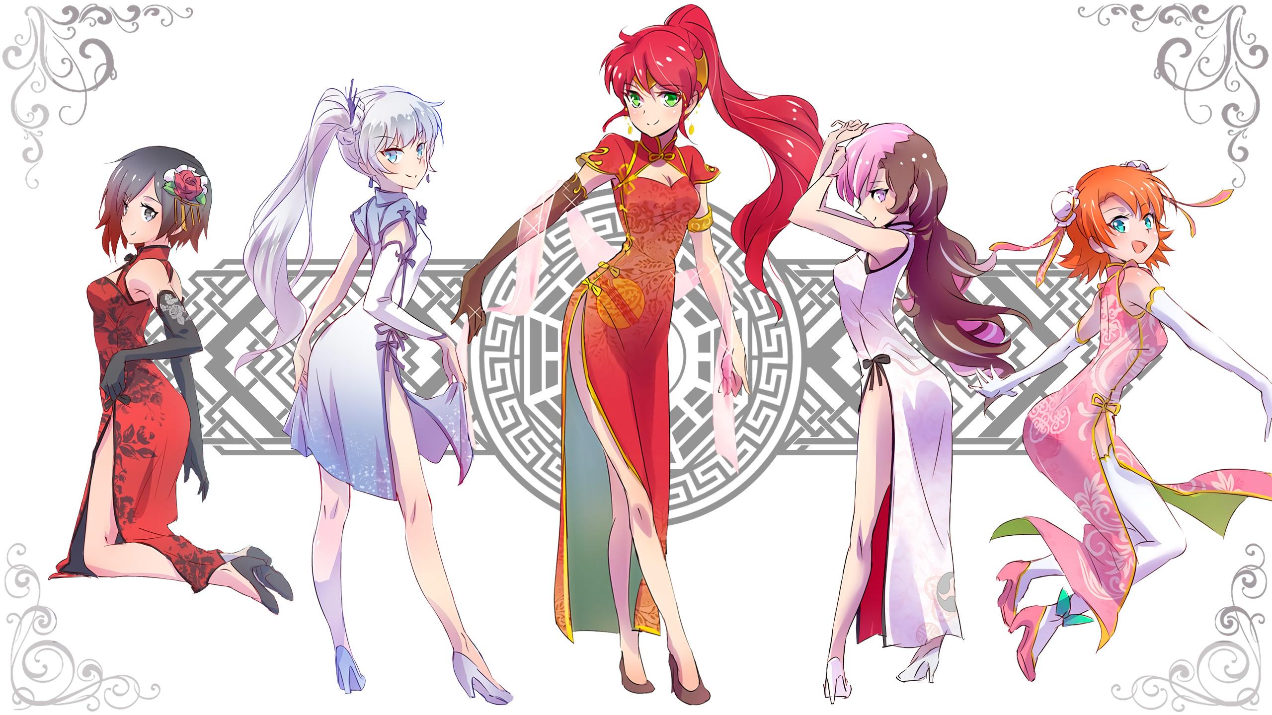 FAN ARTChina Dresses Wallpaper …