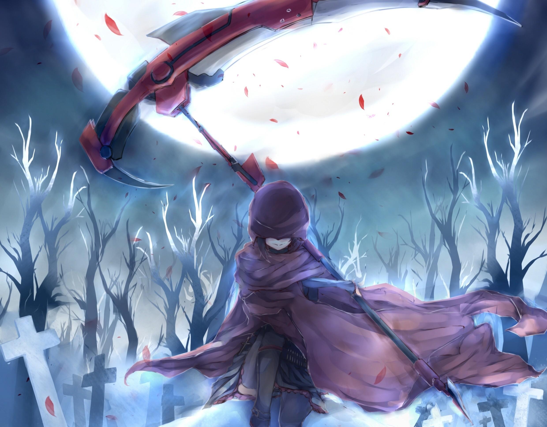Anime RWBY Ruby Anime Art Wallpaper