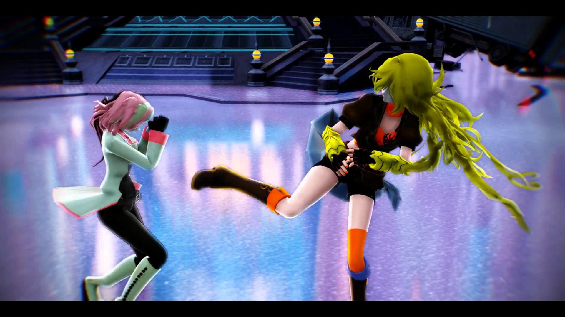 【MMD RWBY】Yang vs Neo (Short fight) – YouTube