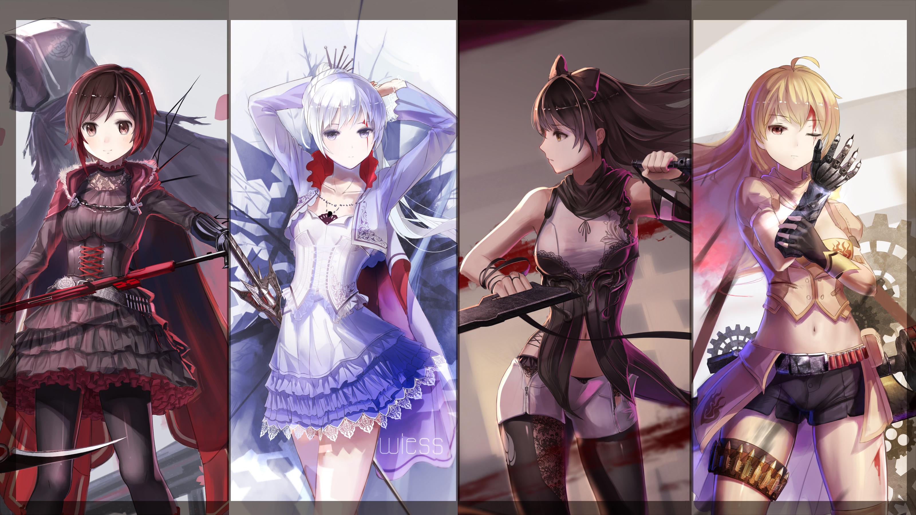 Cool RWBY wallpaper I found today.