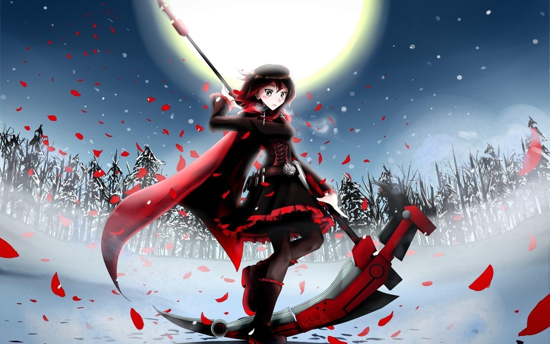 <b>Red</b> Like Roses – <b>RWBY Wallpaper