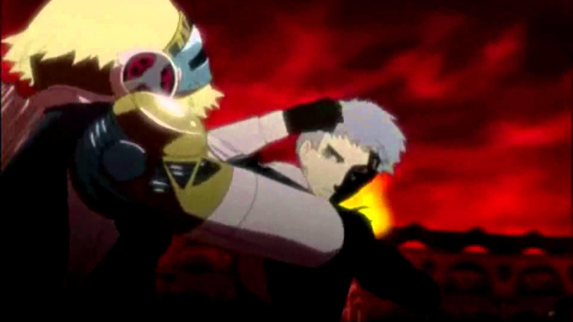 Persona 3 // Akihiko vs Aigis Dubstep