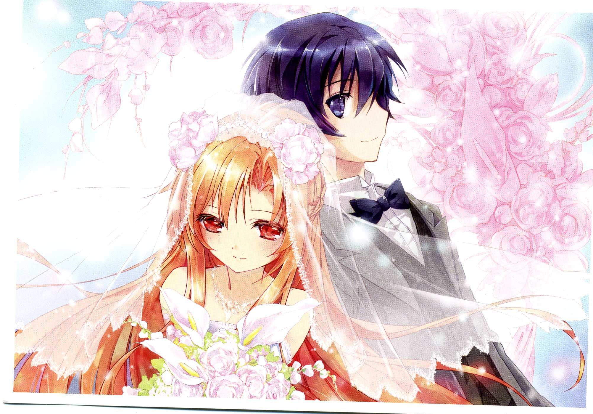 Are you looking for anime couple wallpapers or SAO wallpapers? – added by  daftiduck at Wallpaper request