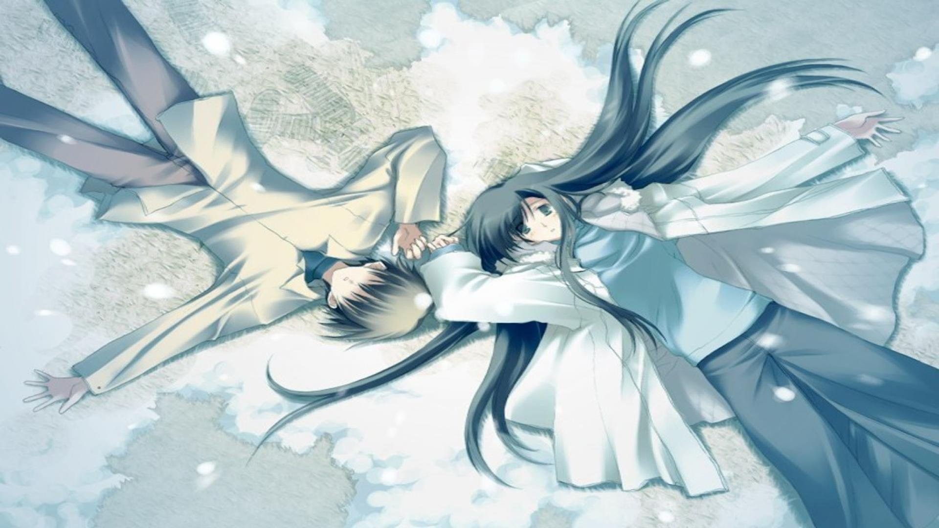 Cute Anime Couple Wallpapers Wallpaper 1280×800 Anime Couple Wallpaper (52  Wallpapers) |