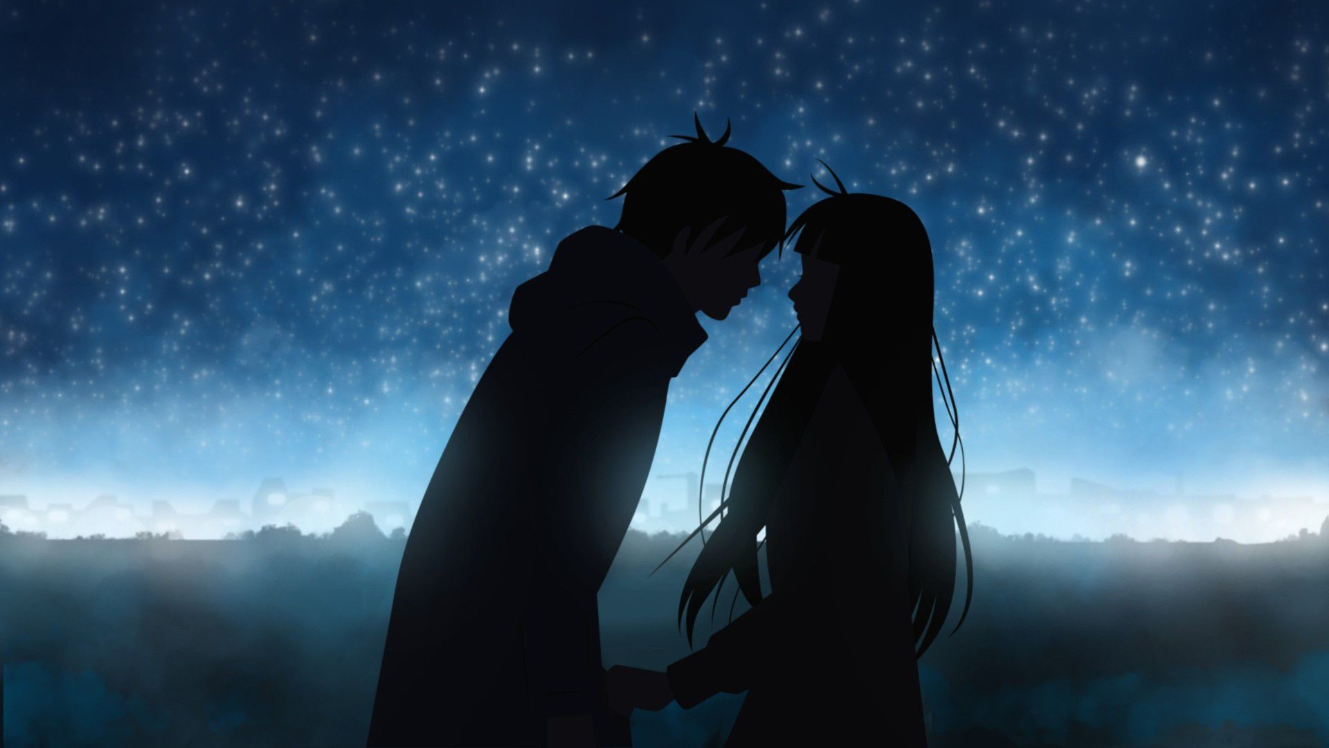 anime couples hd wallpapers