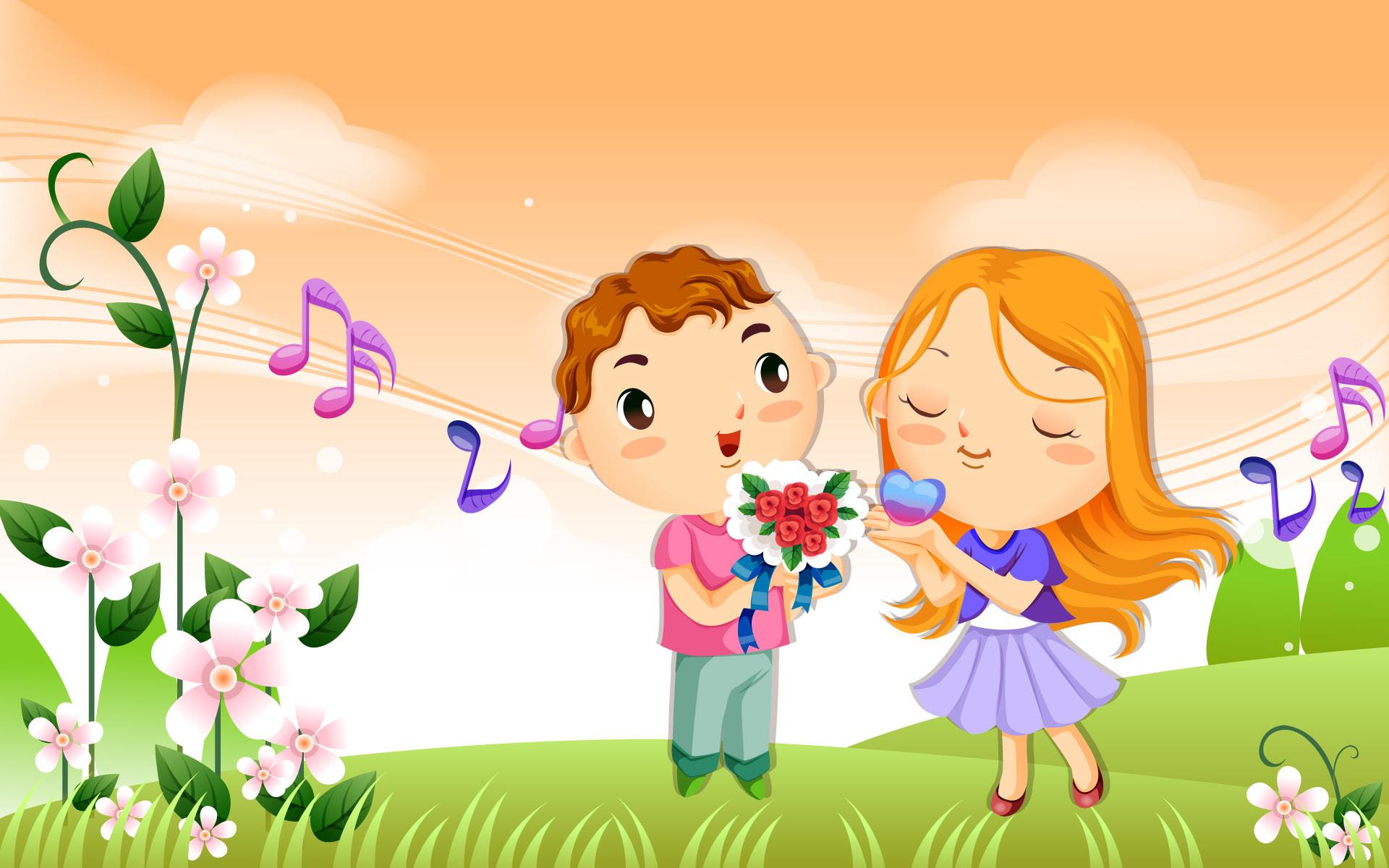 Cute Couple wallpaper – 692344