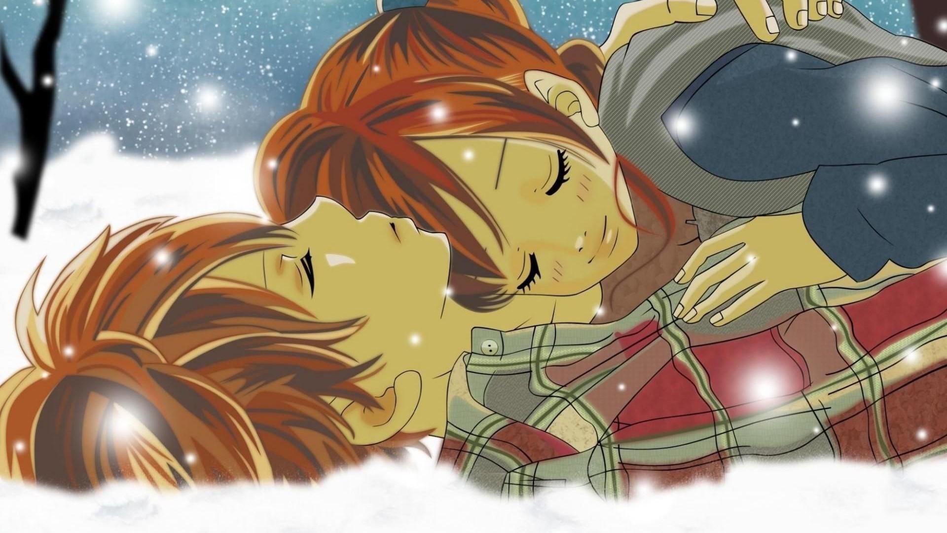 Romantic Love couples HD Wallpaper