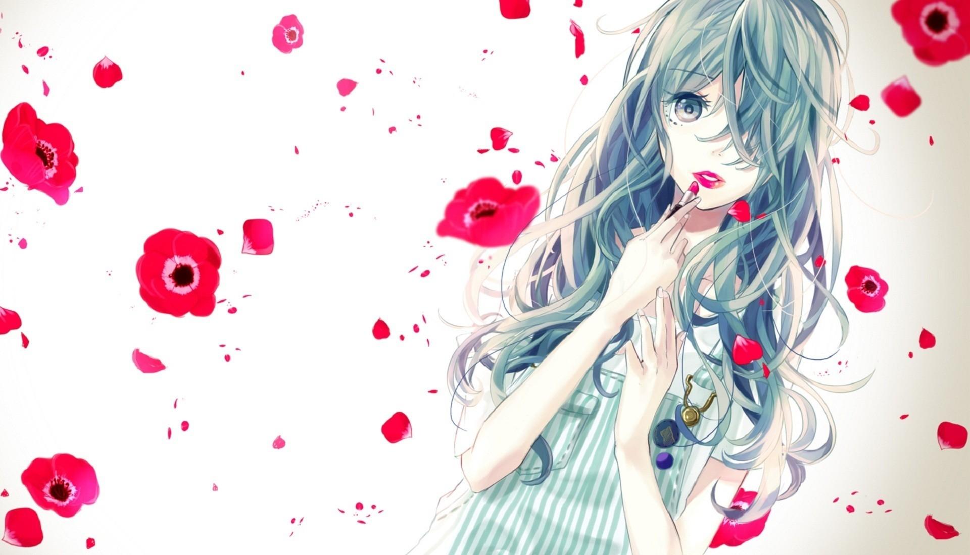 Cute couple anime desktop wallpaper