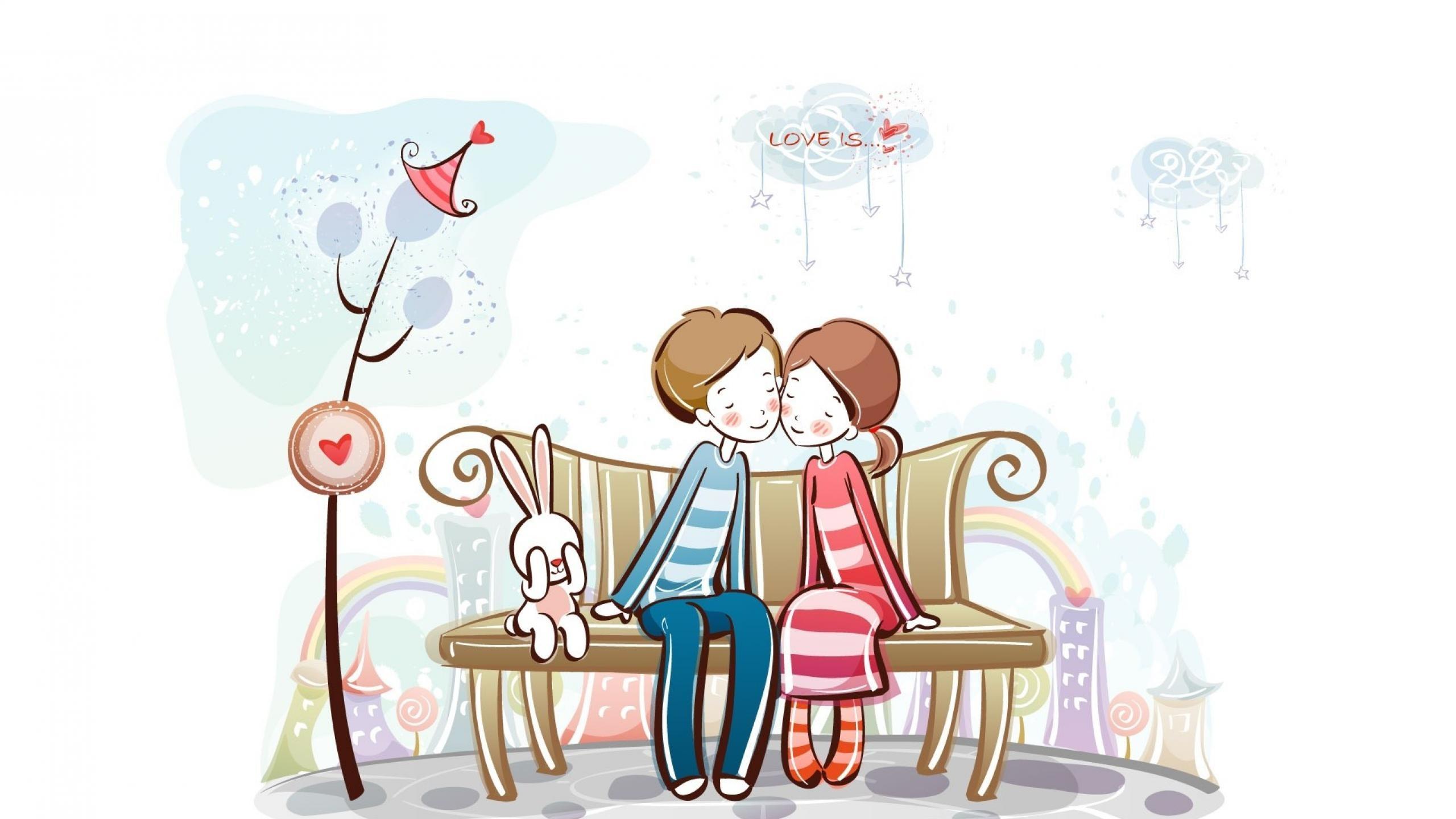 Cute Love Cartoon Couple Pictures | imagebasket.net · Love Wallpapers |  Wallpaper Download