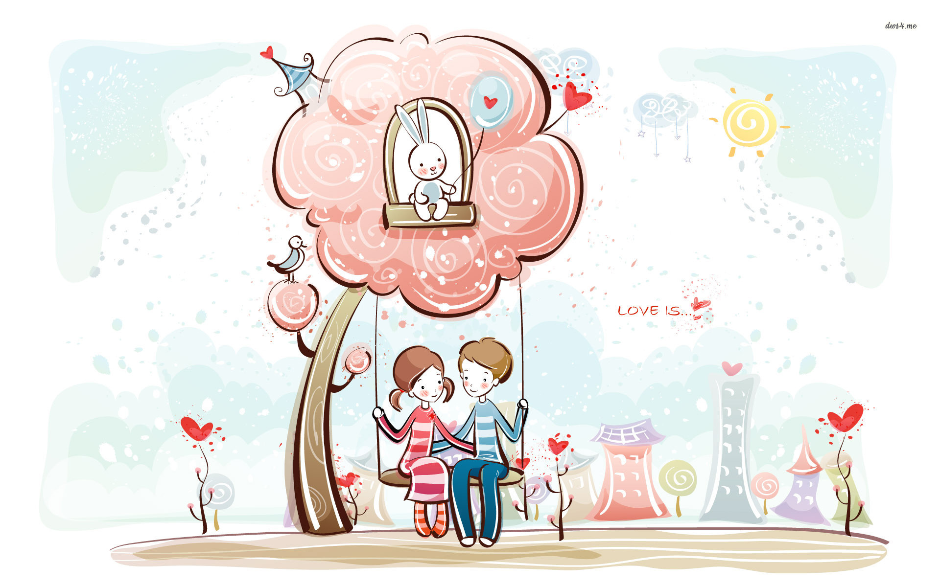 Cartoon Couple | HD Wall Blog