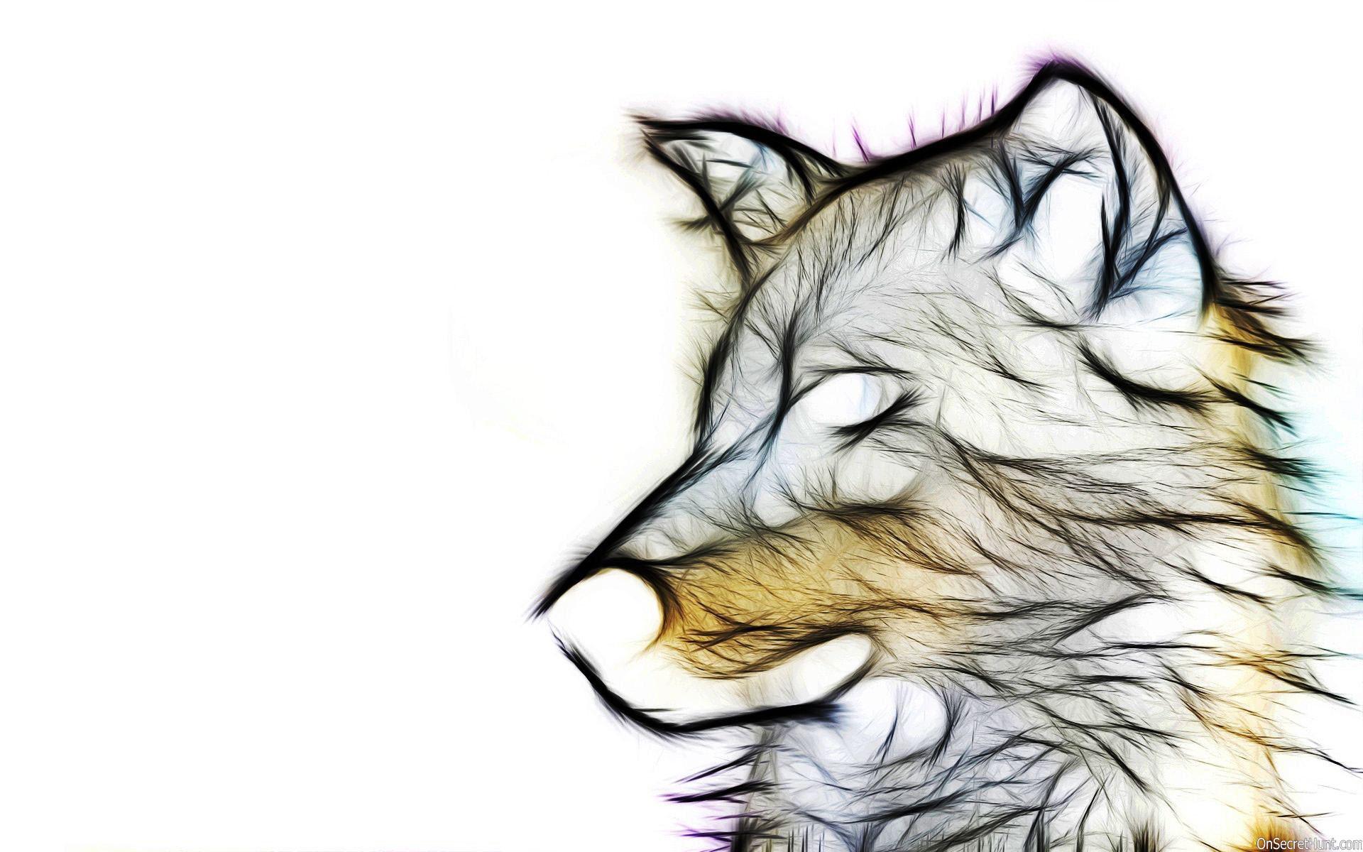3d animal wallpaper hd-Wolf Wallpaper
