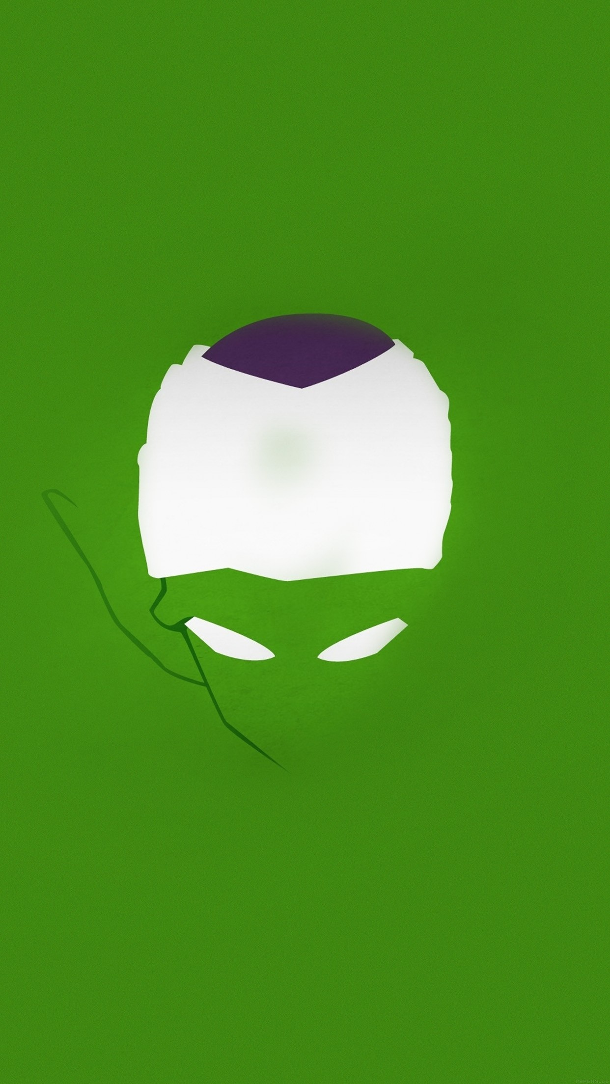 Dragonball Z Piccolo Illust Minimal Simple