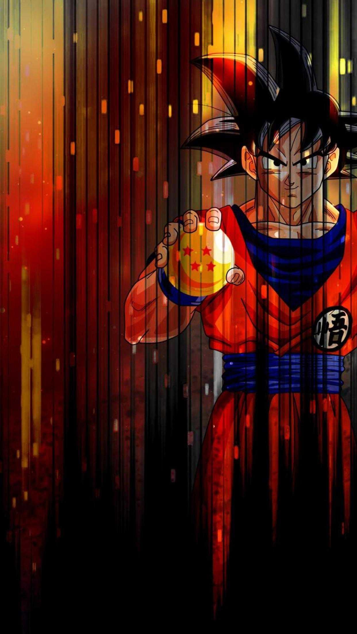 Dragon ball z mobile wallpaper