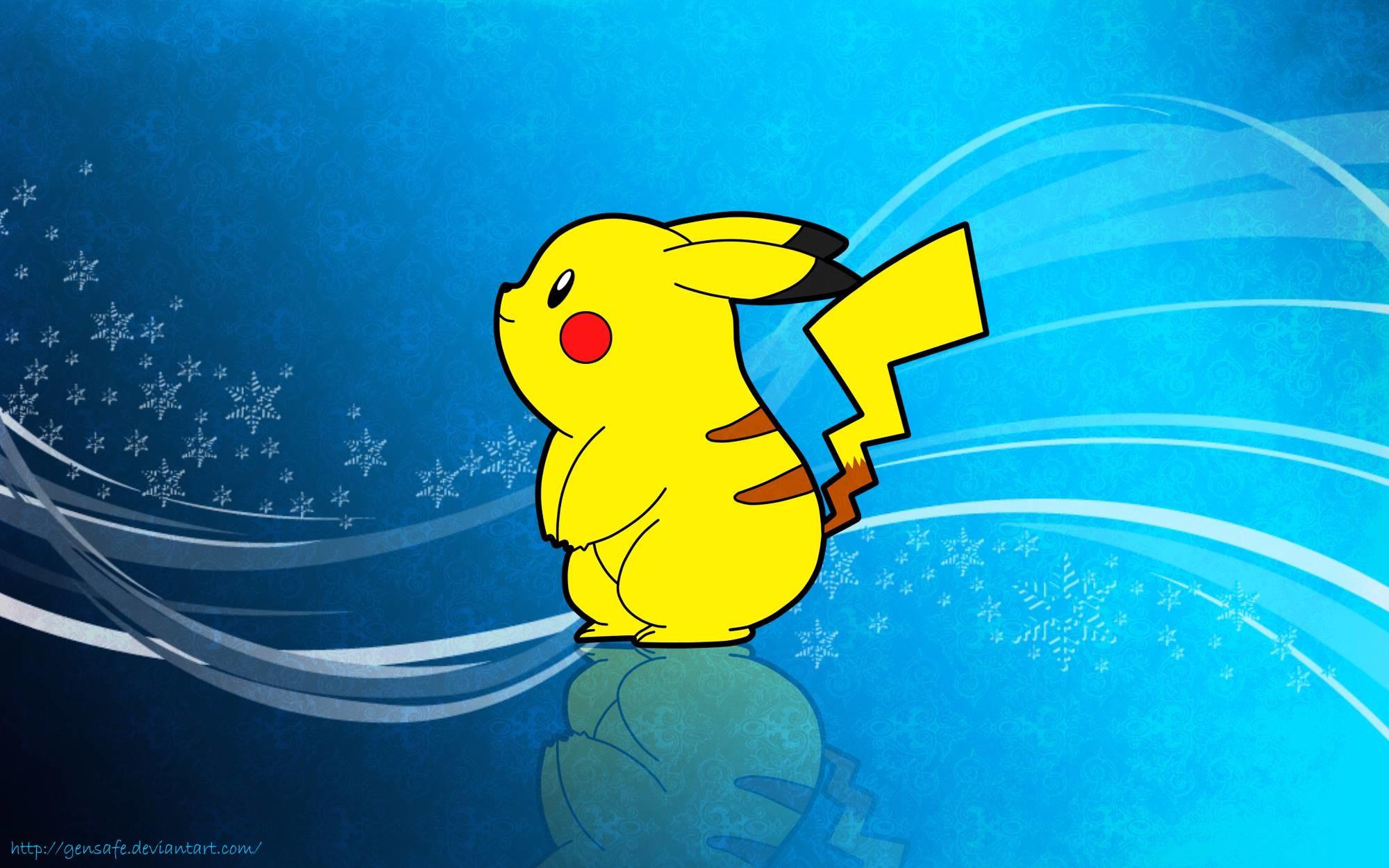 Wallpapers For > Pokemon Wallpaper Pikachu Hd