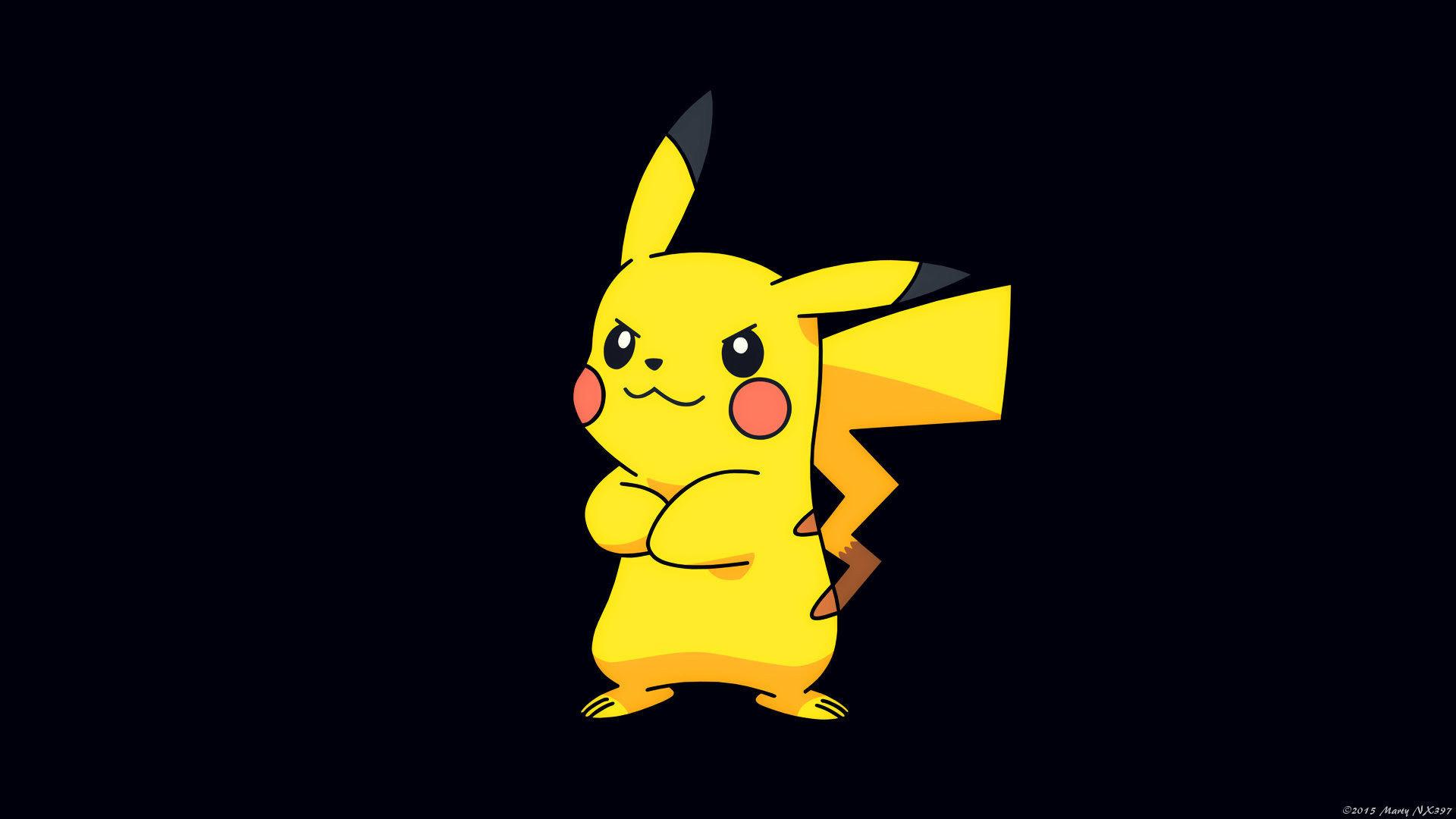 pikachu pokemon game hd wallpaper 1920×1080 44939. ««