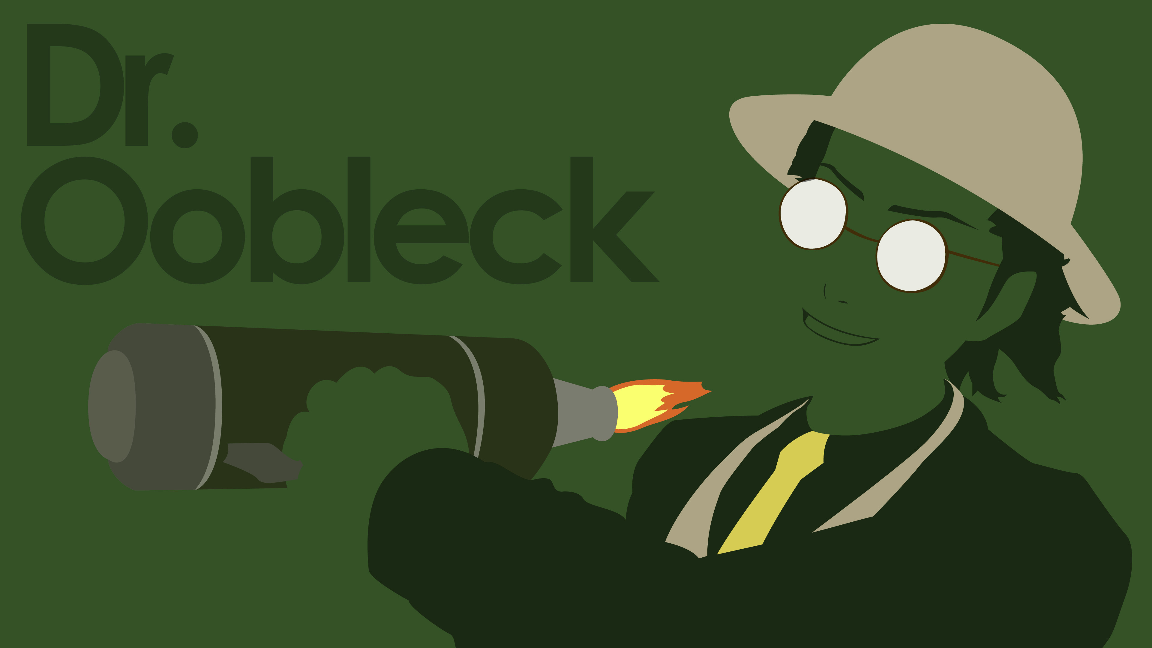 Dr.Oobleck Wallpaper by DanTherrien101 Dr.Oobleck Wallpaper by  DanTherrien101