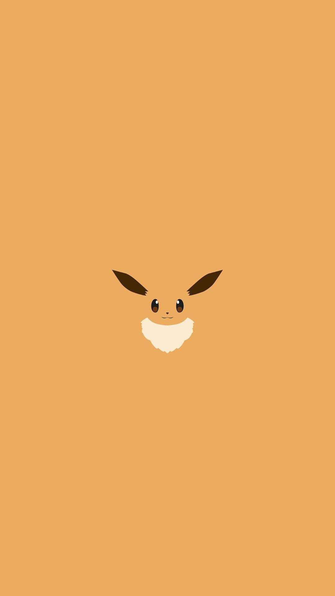 Eevee Pokemon Character iPhone 6+ HD Wallpaper – https://freebestpicture.com