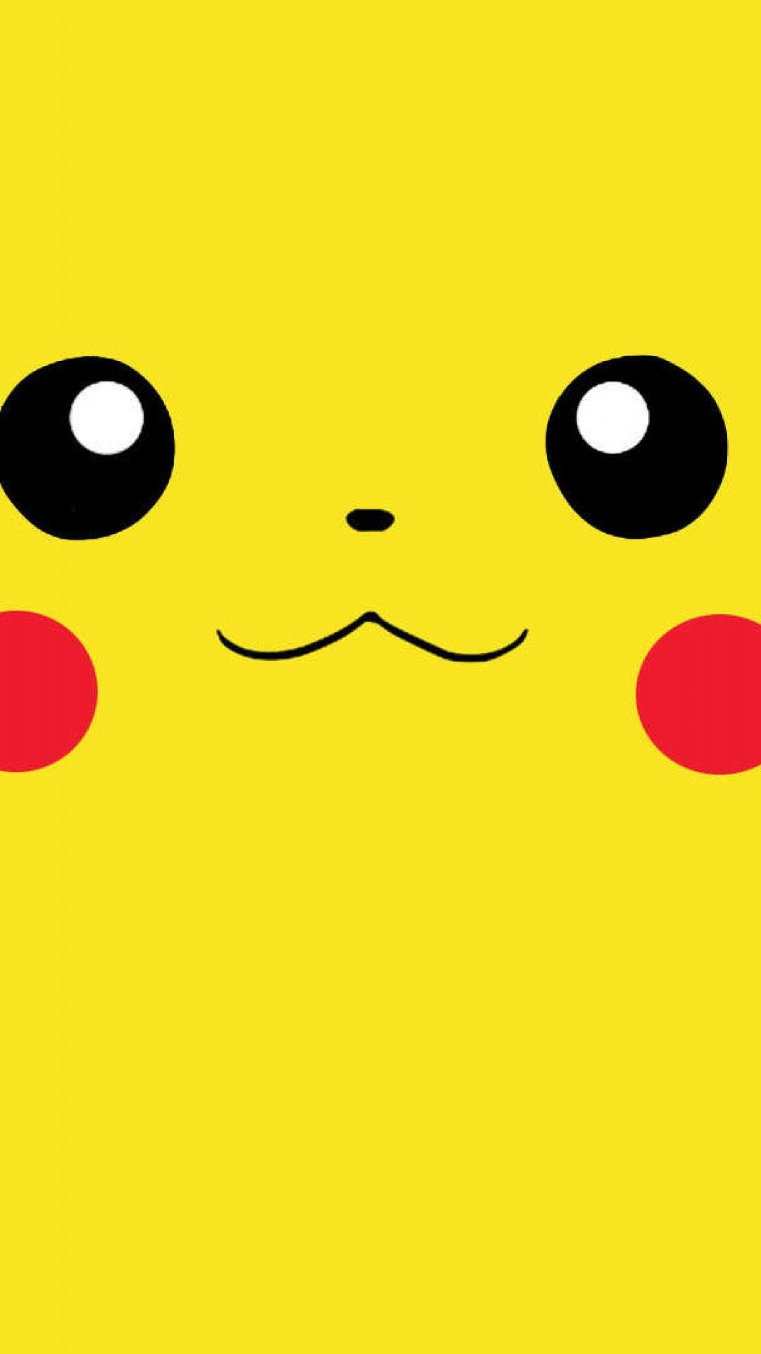 pikachu face wallpaper
