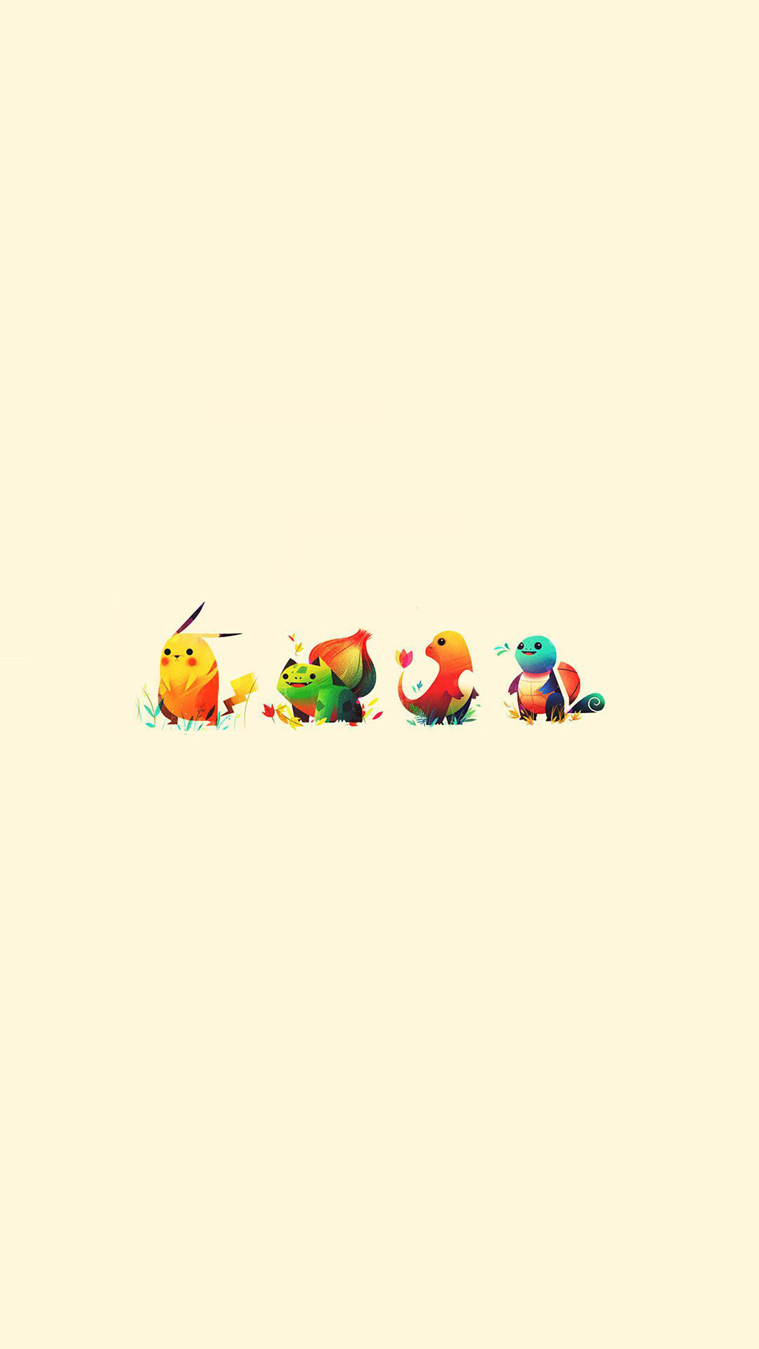 Pokemon Go Anime Game Characters IPhone 6+ HD Wallpaper