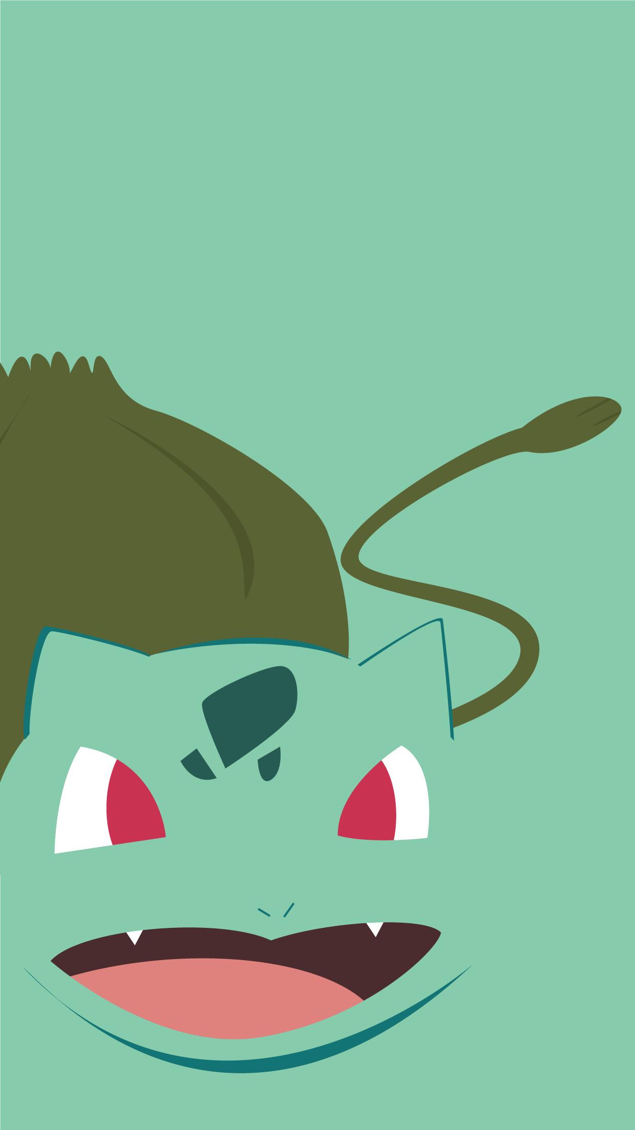 Bulbasaur iPhone Wallpaper 9