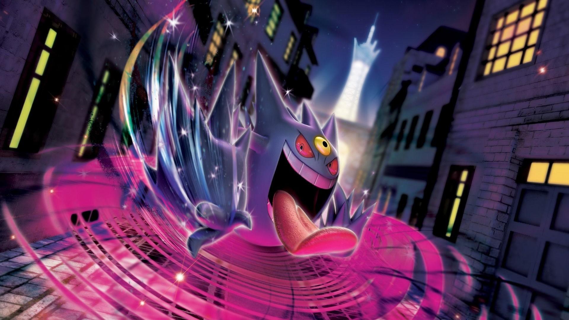 Pokemon Mega Gengar Wallpaper …