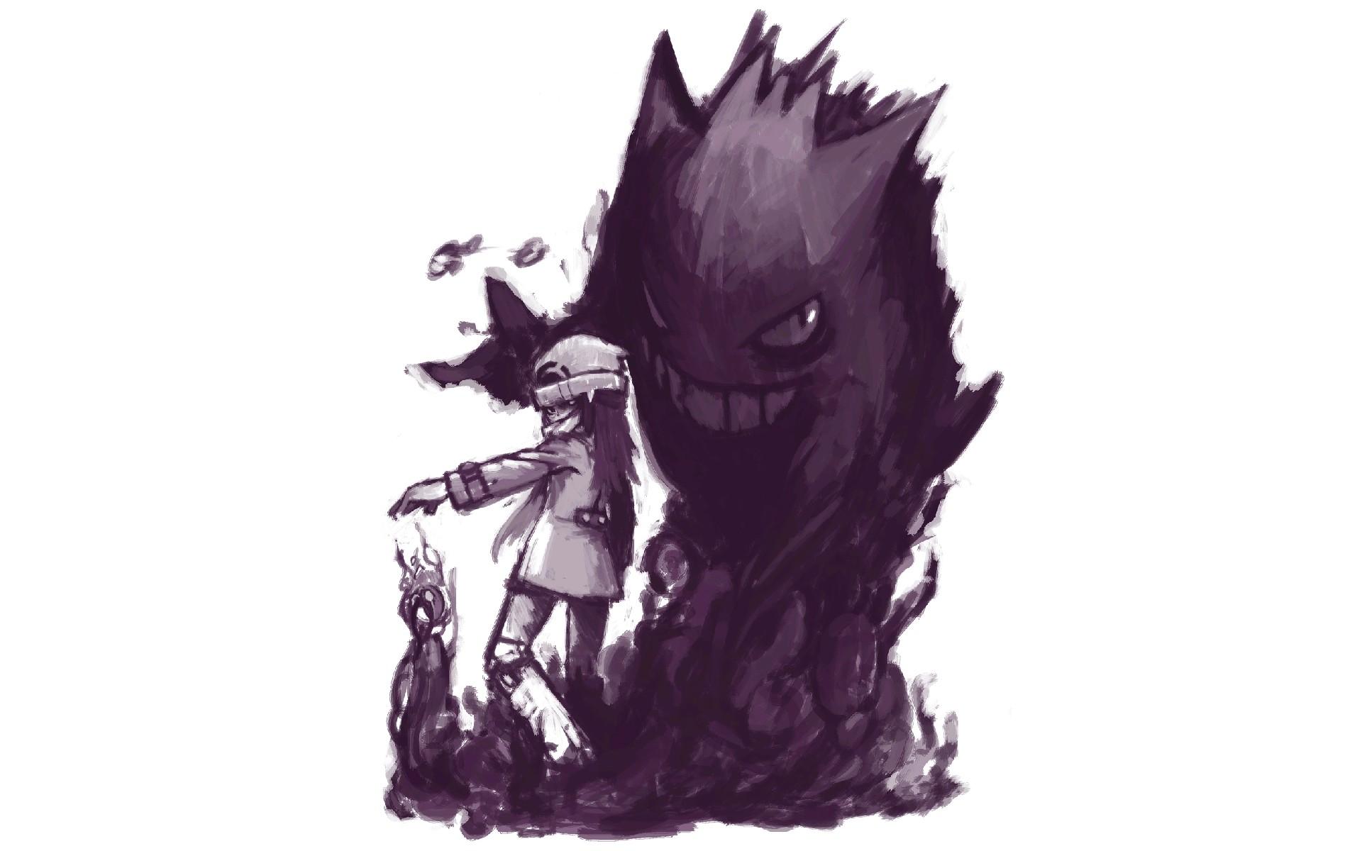 Pokemon Art: Gengar HD Wallpaper
