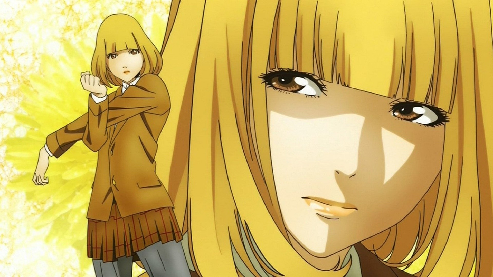 Prison School Source: Keys: anime, prison school, television, wallpaper,  wallpapers. Submitted Anonymously 2 years ago